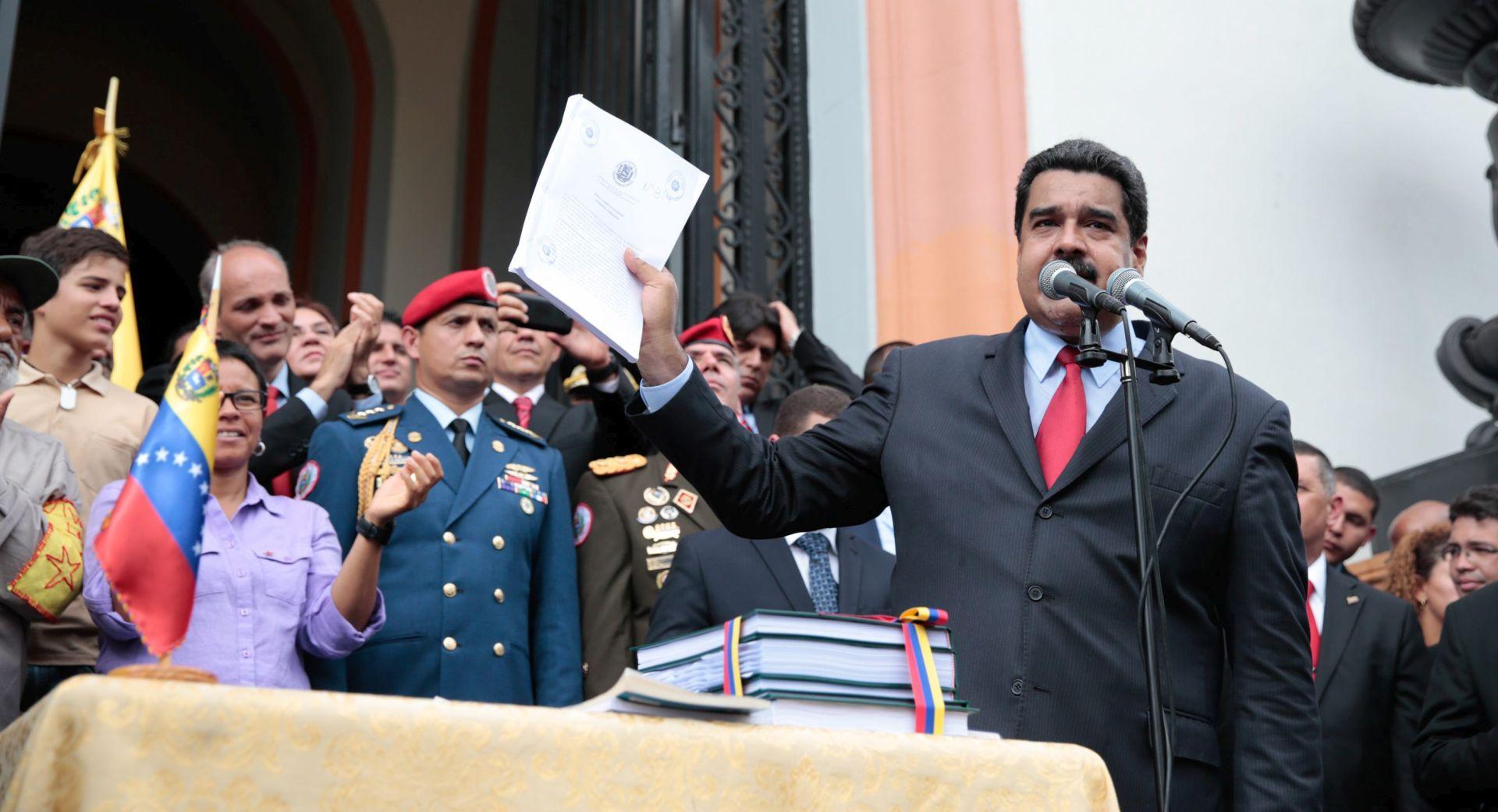 """VENEZUELA Usvojena rezolucija u kojoj se tvrdi da je Madurov režim izveo """"državni udar"""""""