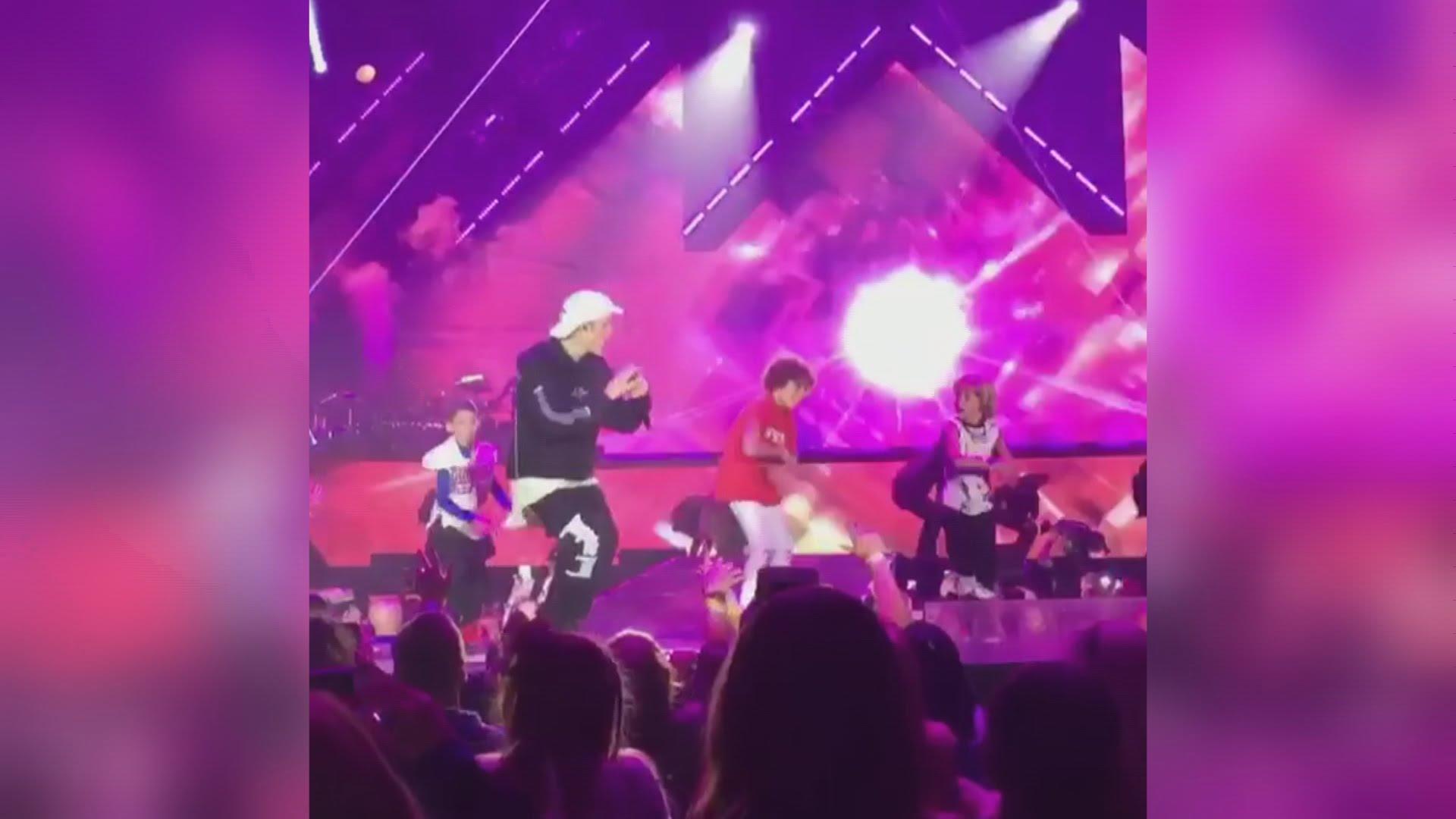 VIDEO: Mladi engleski b-boy nastupio na stageu s Justinom Bieberom