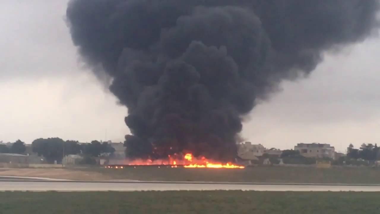 VIDEO Srušio se zrakoplov s dužnosnicima Frontexa, najmanje 5 mrtvih