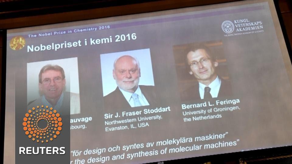 Nobelova nagrada za kemiju trojici znanstvenika za izum 'molekularnih uređaja'