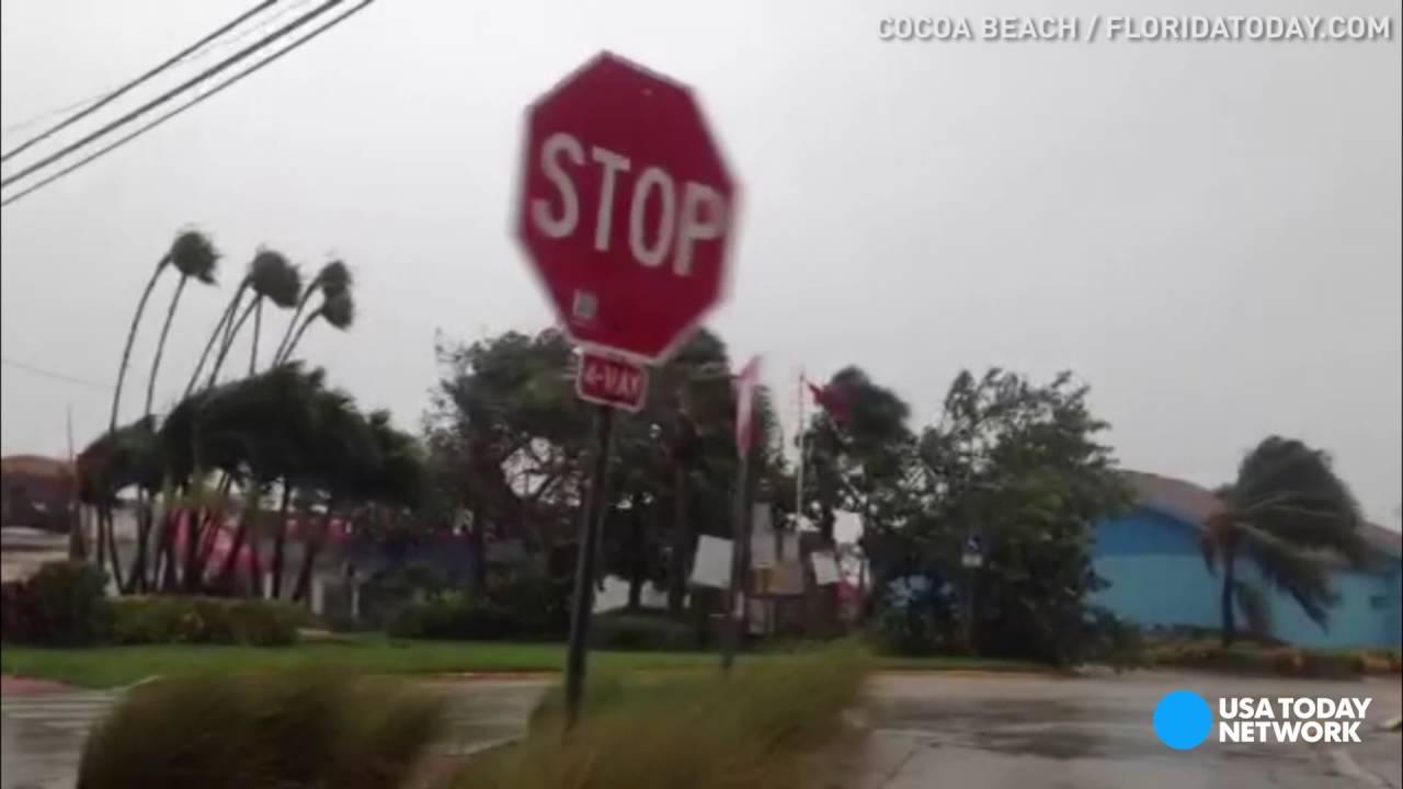 VIDEO: Tropska oluja Matthew stigla na Floridu