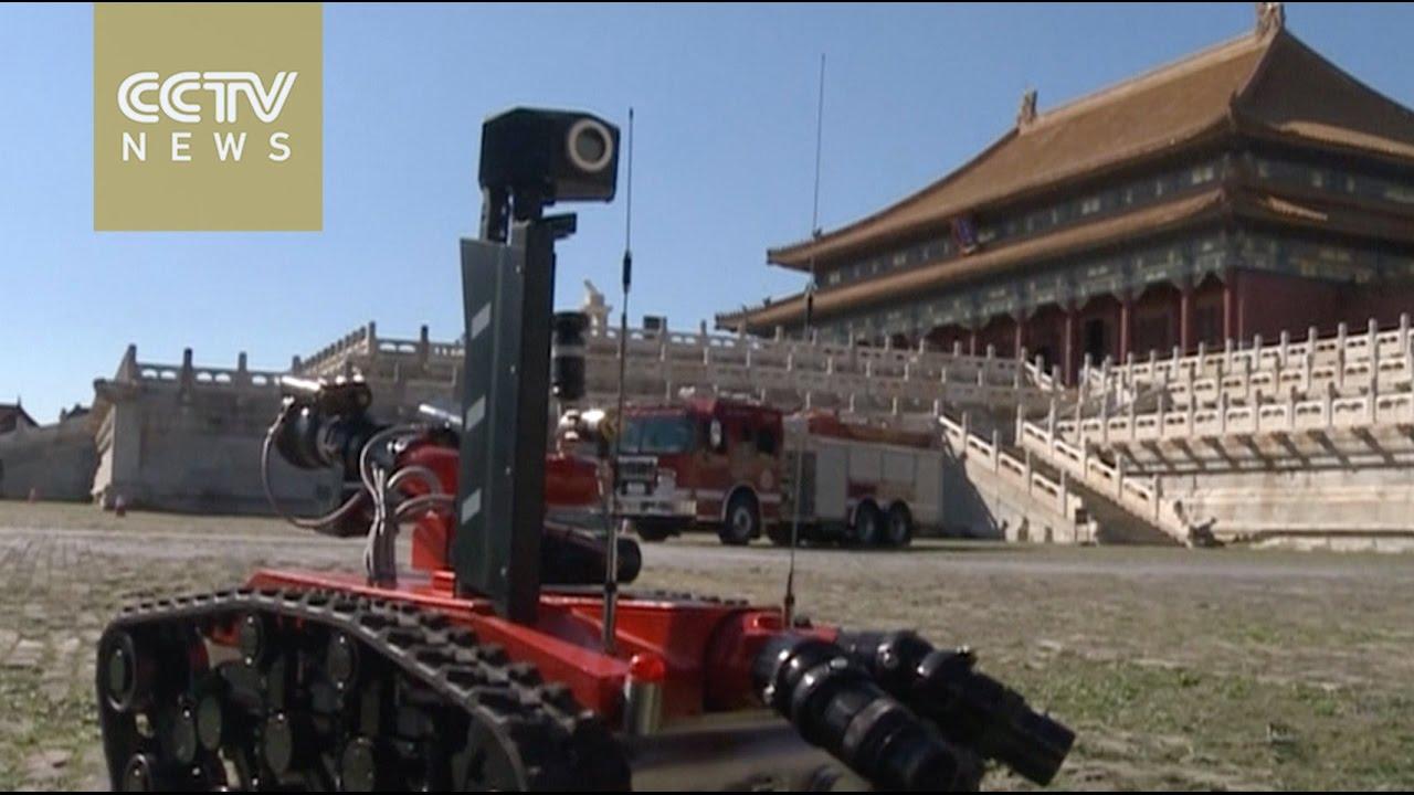 VIDEO: Vatrogasna vježba u kineskom Zabranjenom gradu