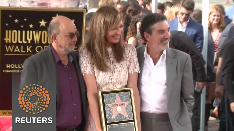VIDEO: Allison Janney dobila svoju zvijezdu u Hollywoodu