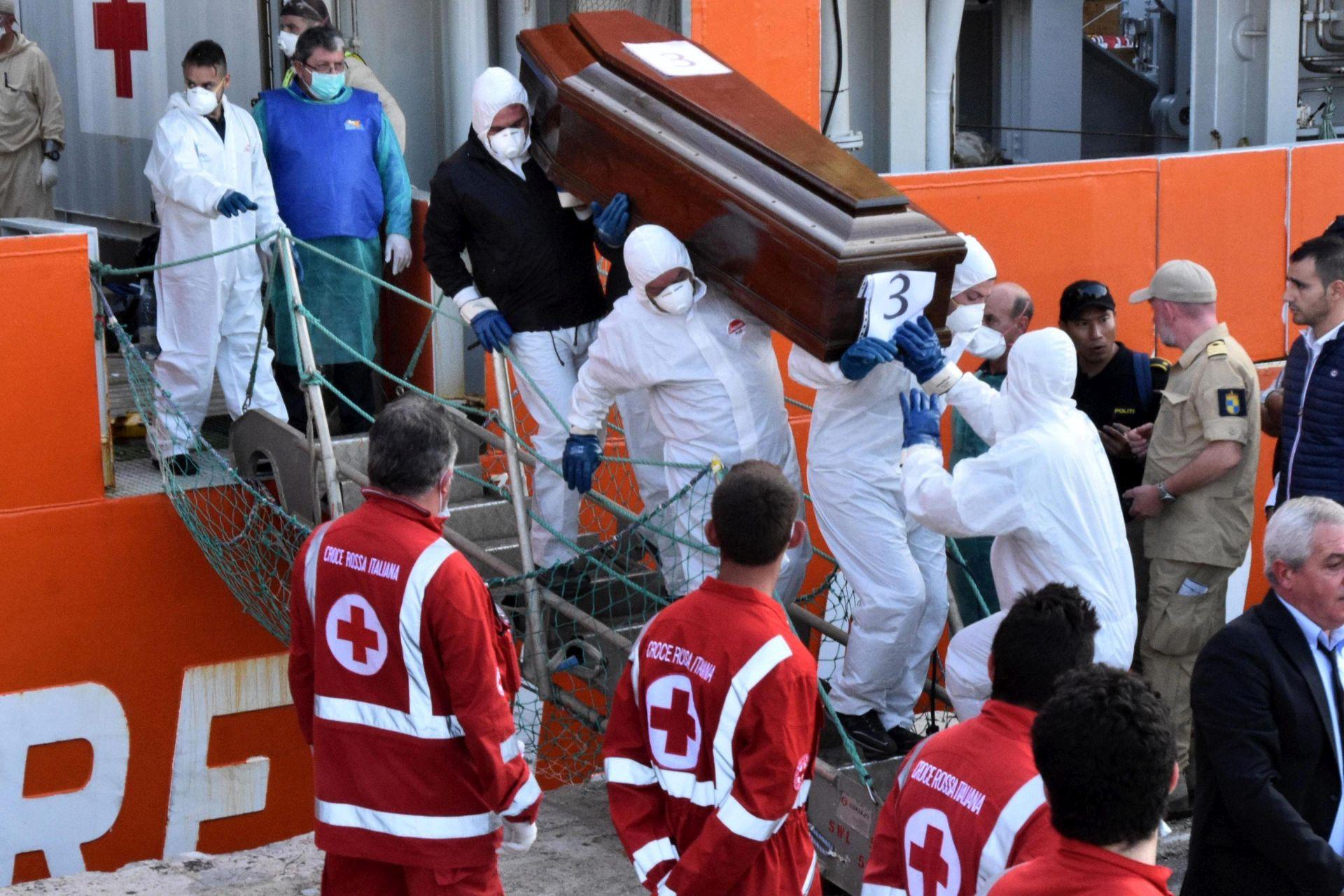ŽRTVE BRODA UŽASA: 2016. rekordna s 3800 poginulih migranata u Sredozemlju