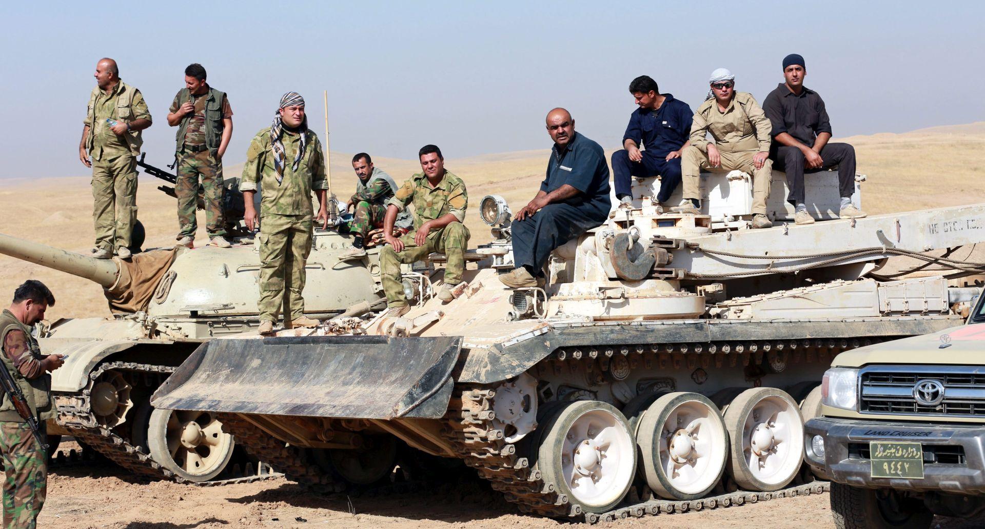IRAČKI PREMIJER: 'Ofenziva na Mosul ide brže od očekivanog'