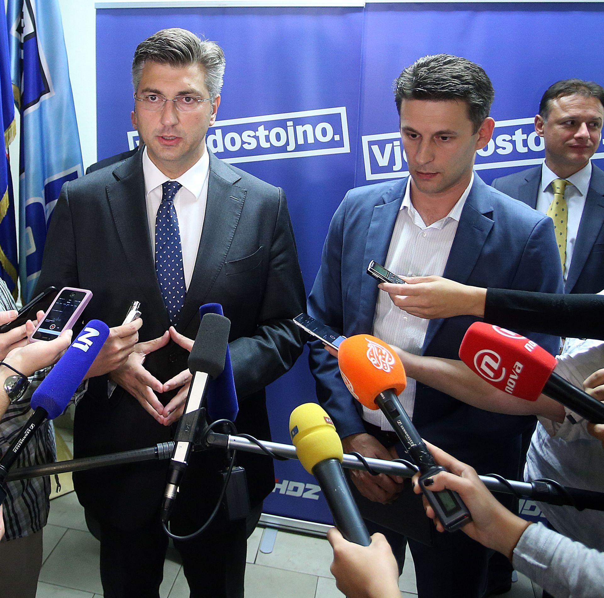 """PETROV I PLENKOVIĆ """"Usuglasili smo se vezano za konstituiranje Sabora"""""""