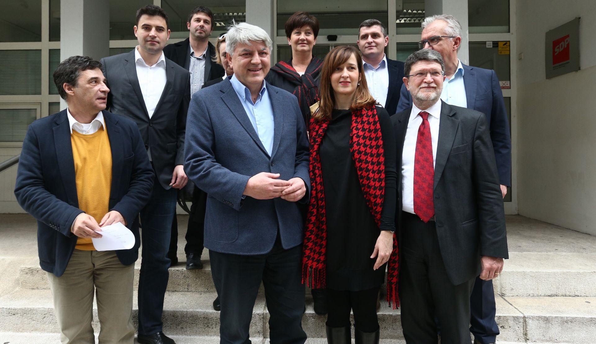 IZBORI U SDP-u: Ukupno 10 kandidata za predsjednika stranke