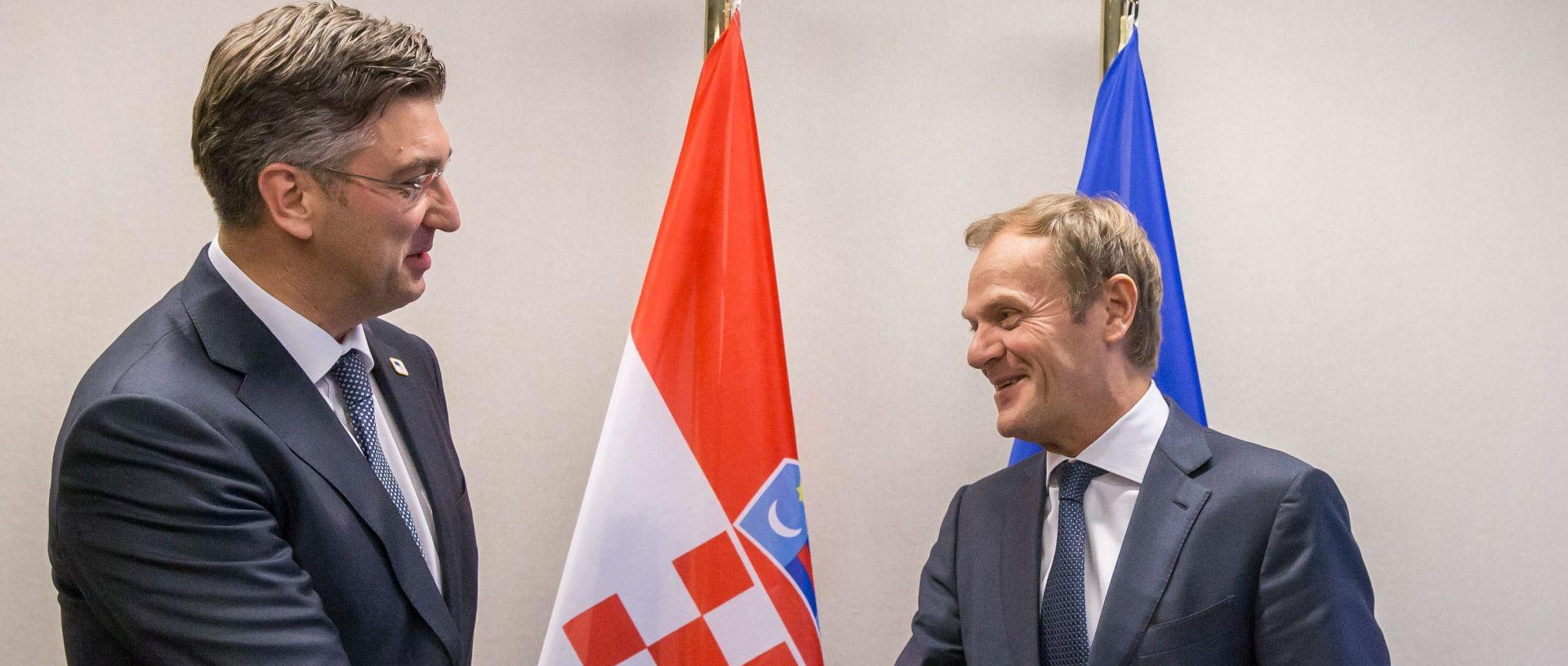 Plenković na svom prvom Europskom vijeću