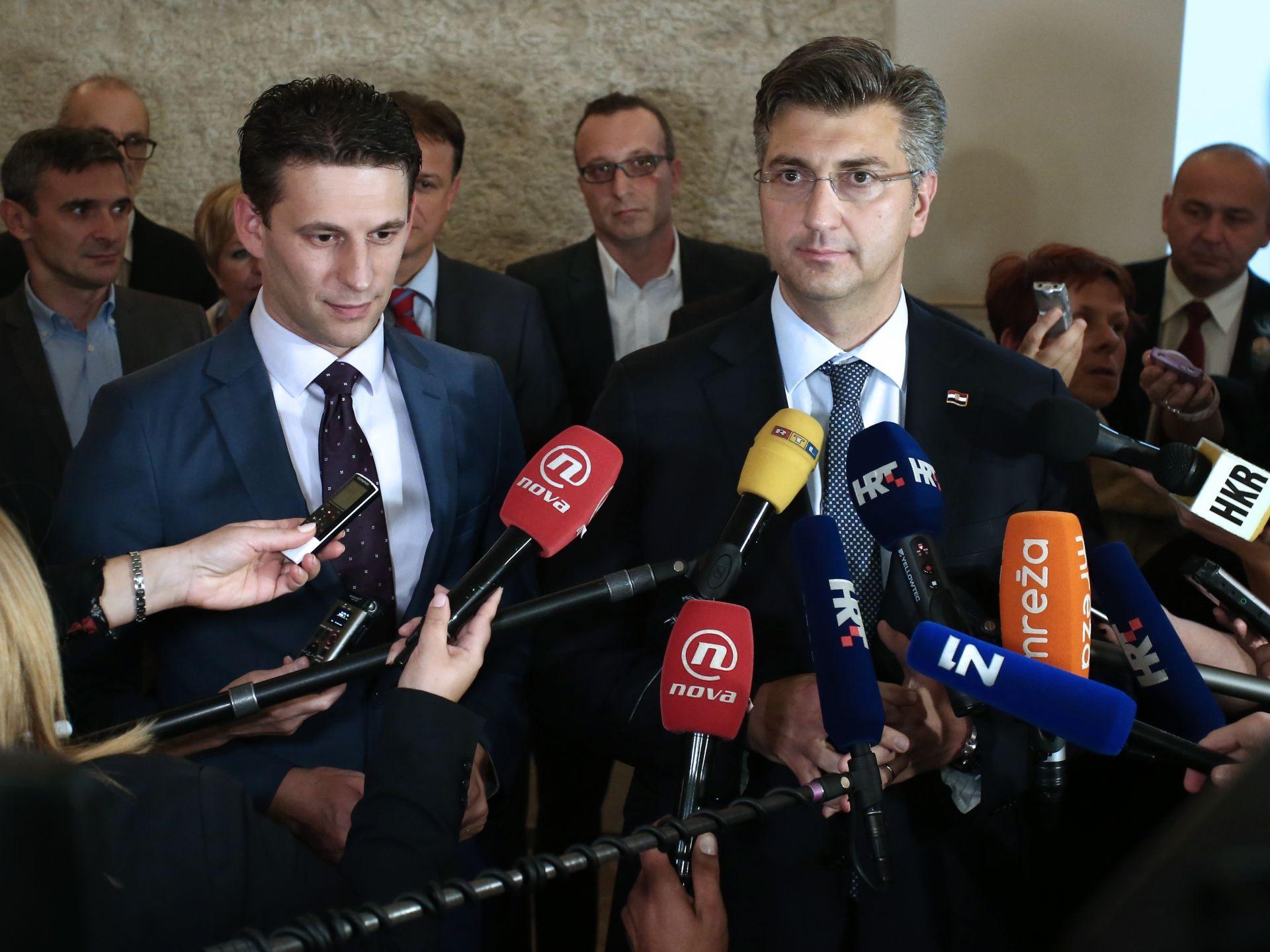 PLENKOVIĆ: 'Intencija je da saborskim zastupnicima zakonski prijedlozi budu dostupni u petak'