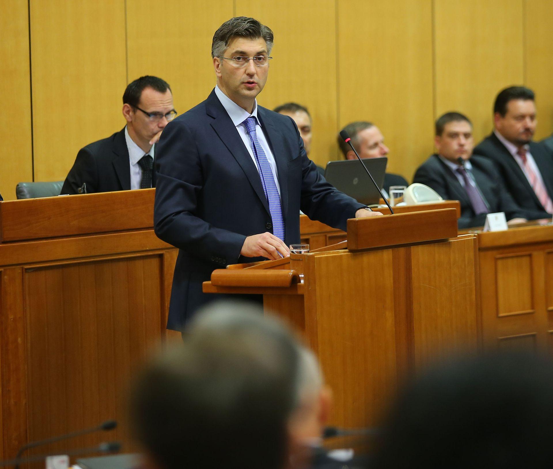PLENKOVIĆ: 'Nastojat ćemo pripremiti kvalitetan proračun za 2017., što više orijentiran gospodarskom razvoju'
