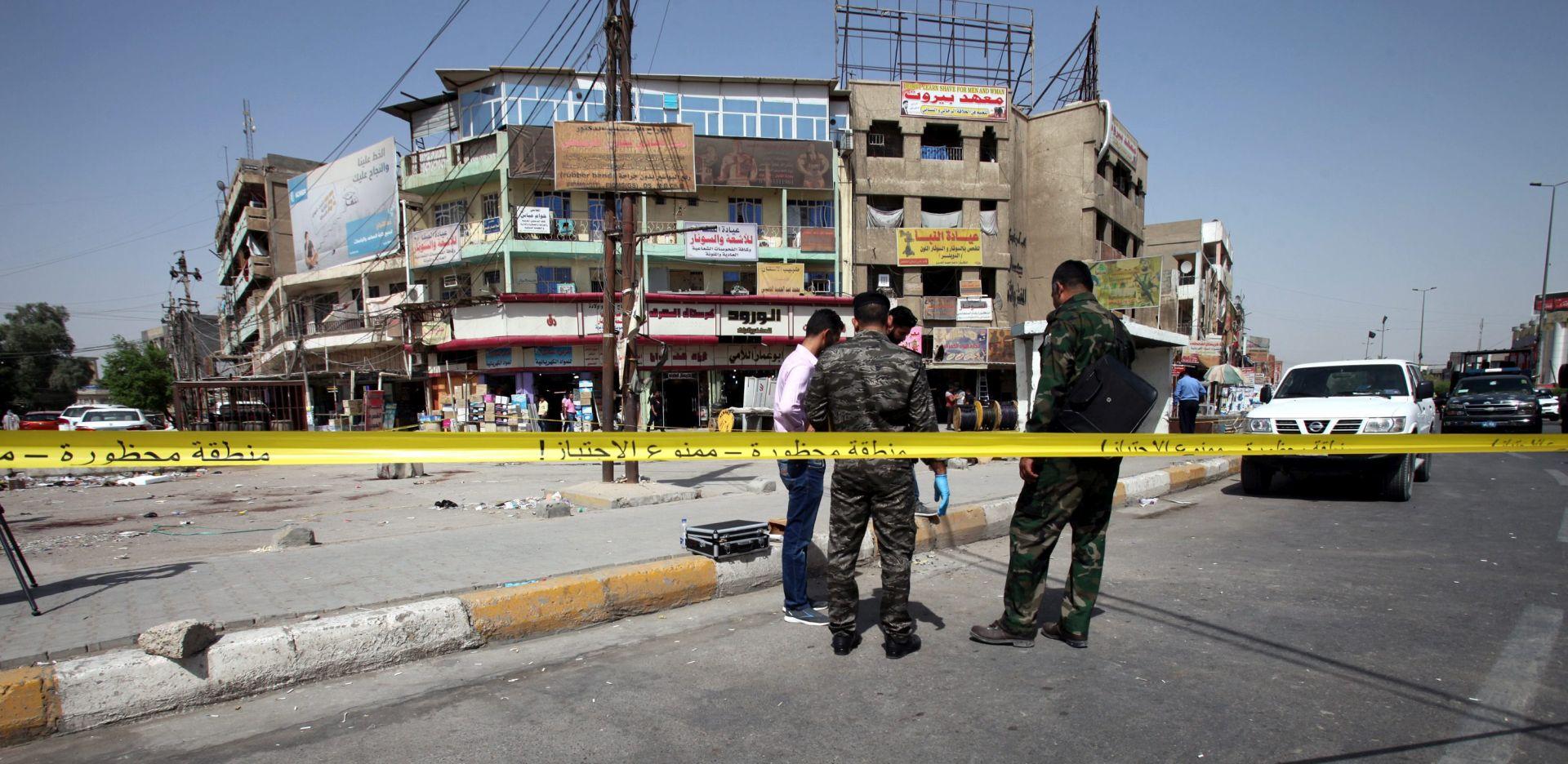 SAMOUBILAČKI NAPADI IS-a: U Bagdadu deset mrtvih, više od 20 ozlijeđeno