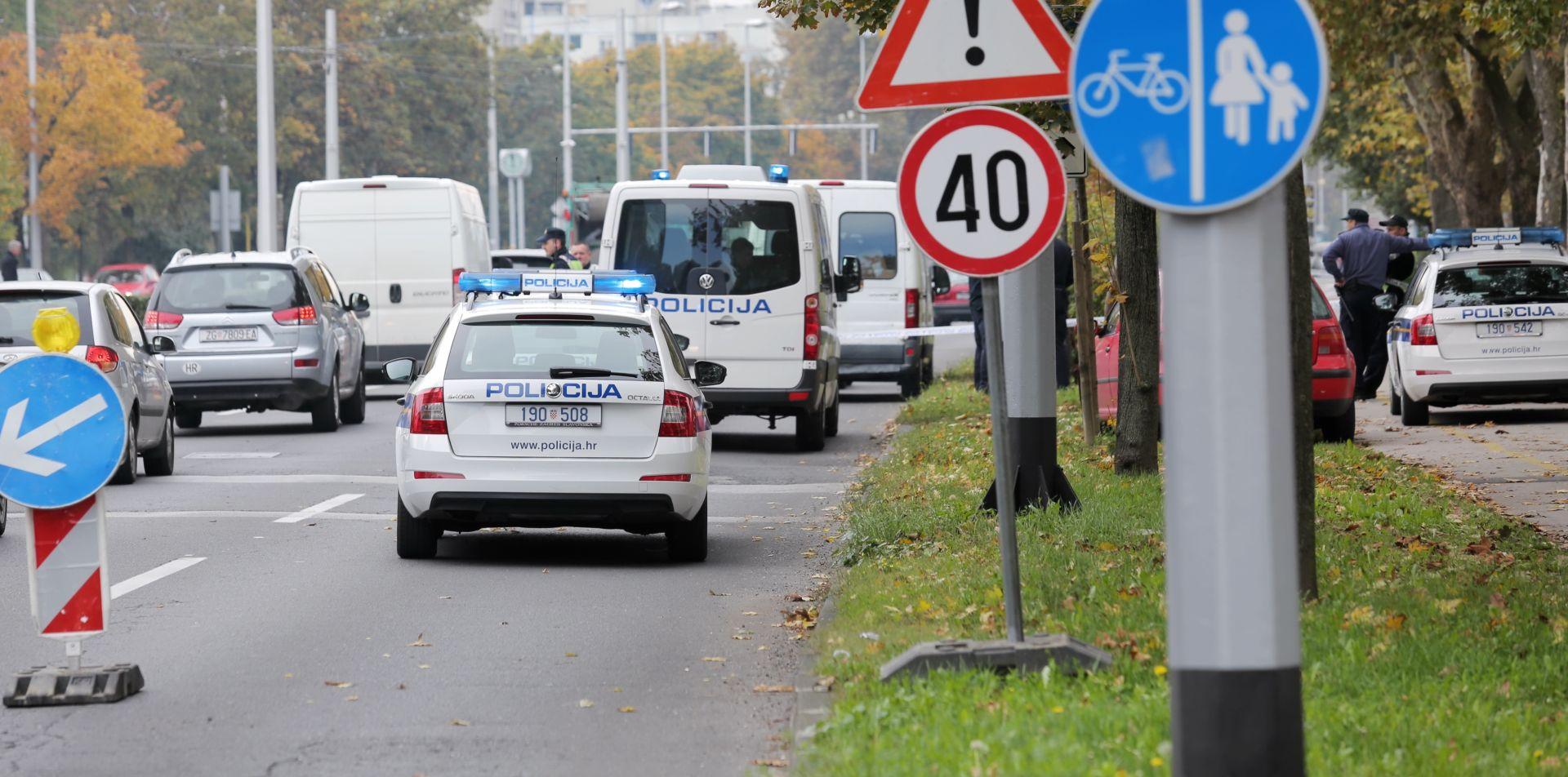 ISTRAGA U TIJEKU: Nakon potjere zaustavljen bijeli kombi na Vukovarskoj, jedna osoba privedena
