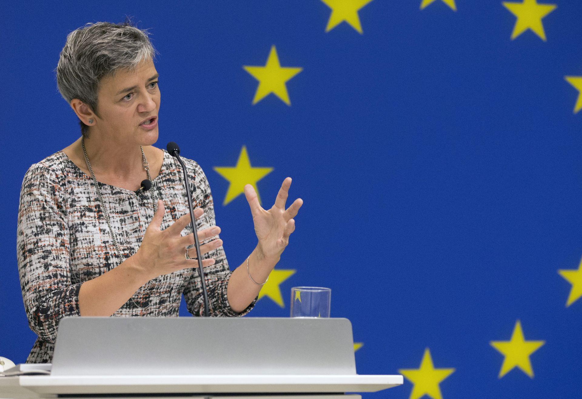 POVJERENICA VESTAGER: EU budno prati dodjelu državne pomoći posrnulim bankama