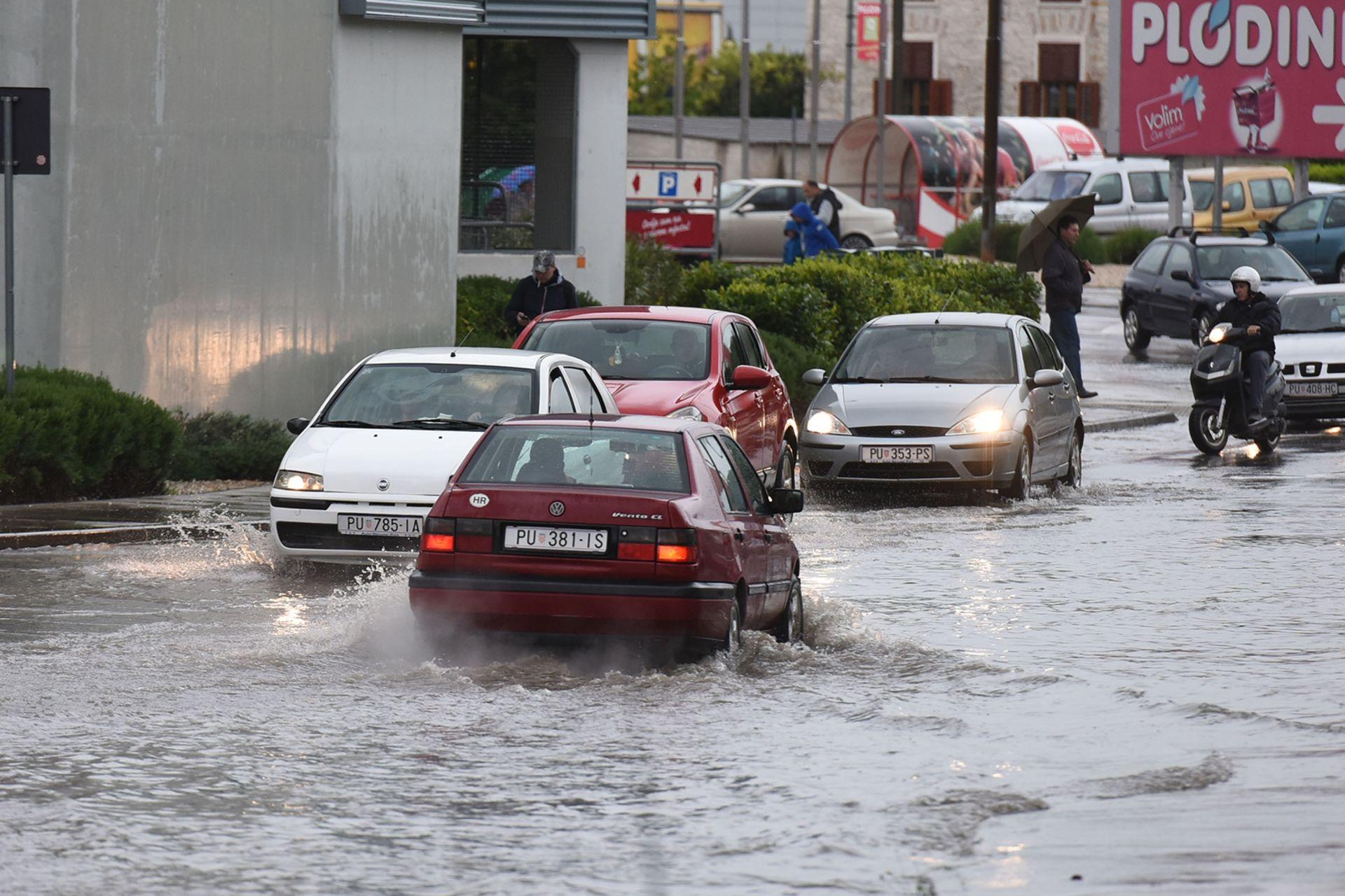 PULA Sustav obrane od poplava u Istri zadovoljava