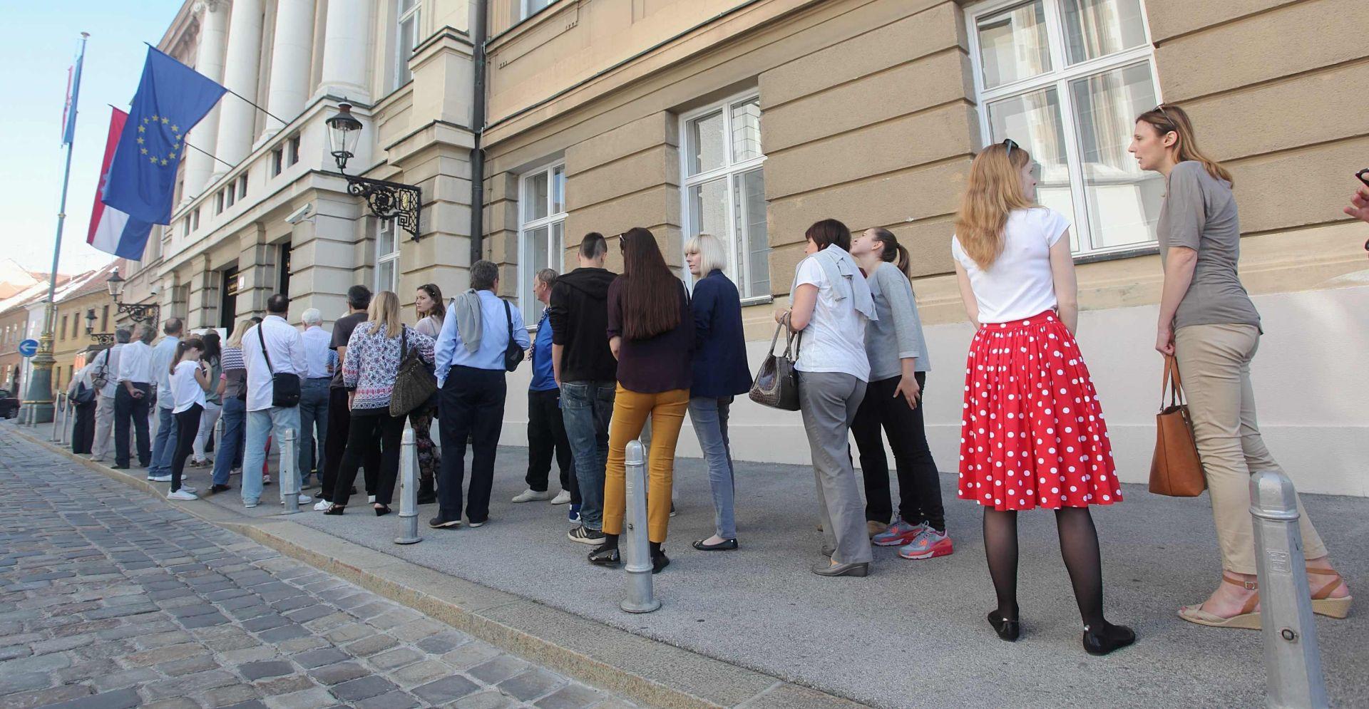 Hrvatski sabor u nedjelju otvara vrata građanima