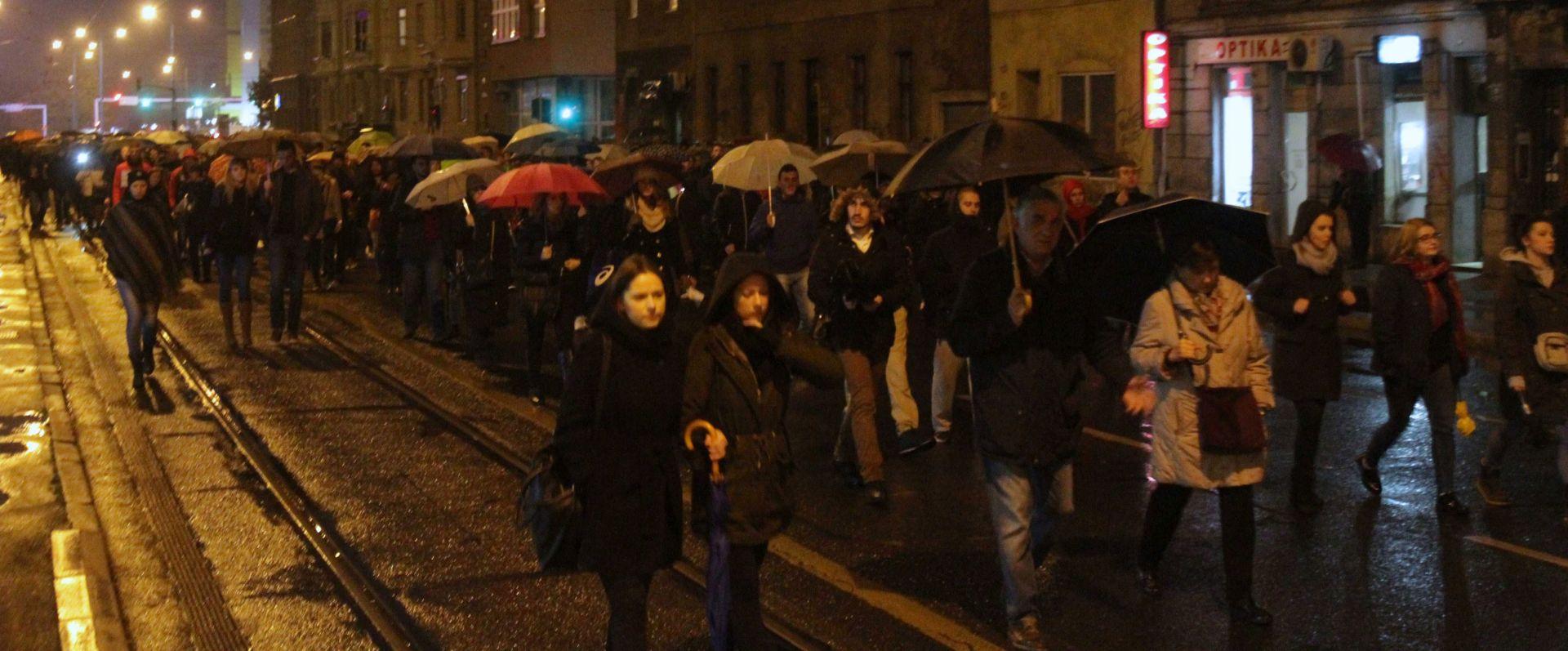 """SARAJEVO Prosvjed zbog nedužnih žrtava vozača """"trkača"""""""