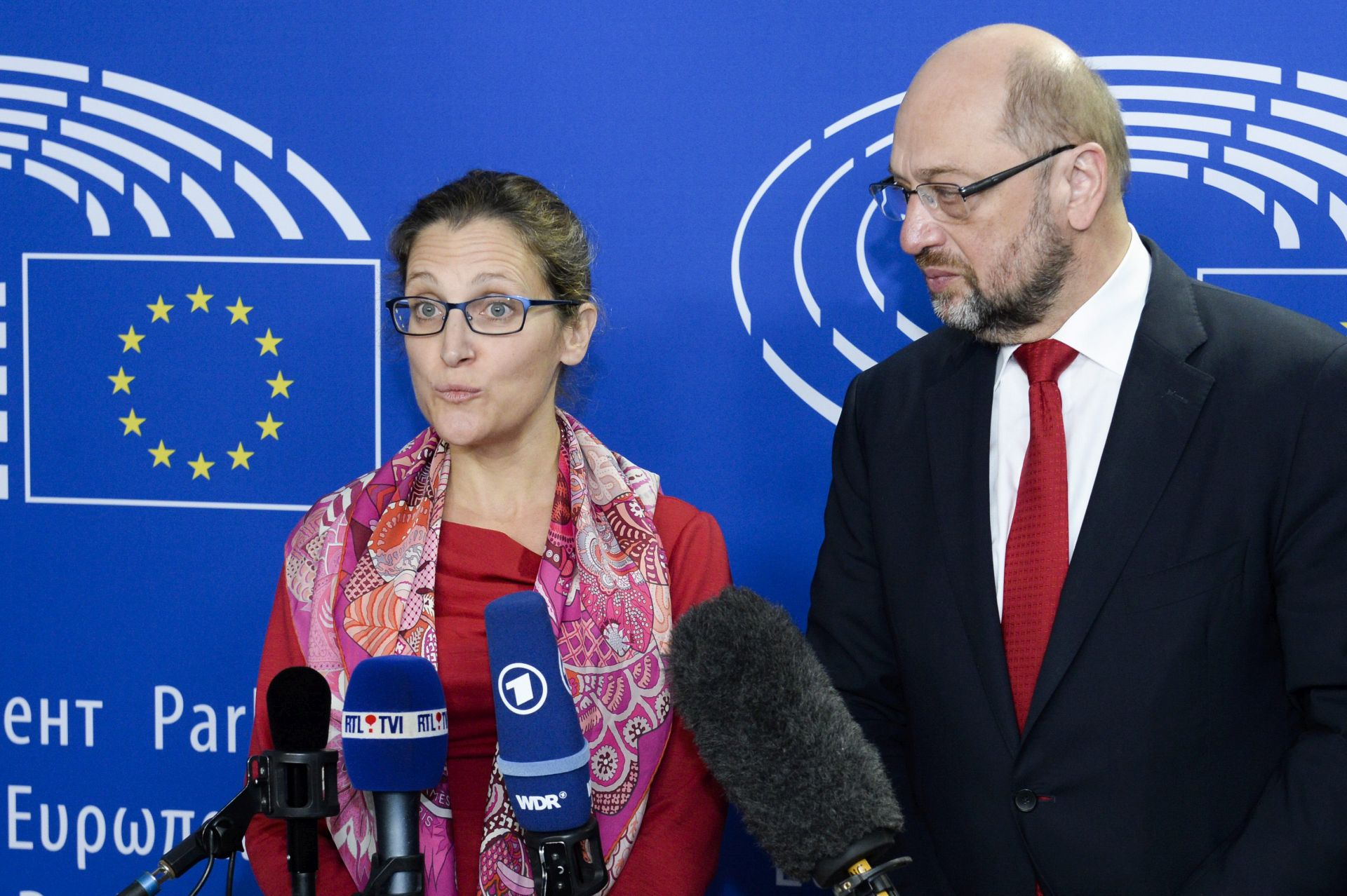 MARTIN SCHULZ: 'Valonsko protivljenje potpisivanju CETA-e nije nepremostivo'