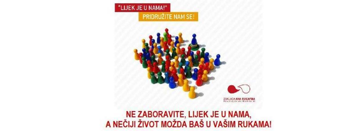 Zaklada Ana Rukavina poziva građane na akciju upisa u Registar u Velikoj Gorici