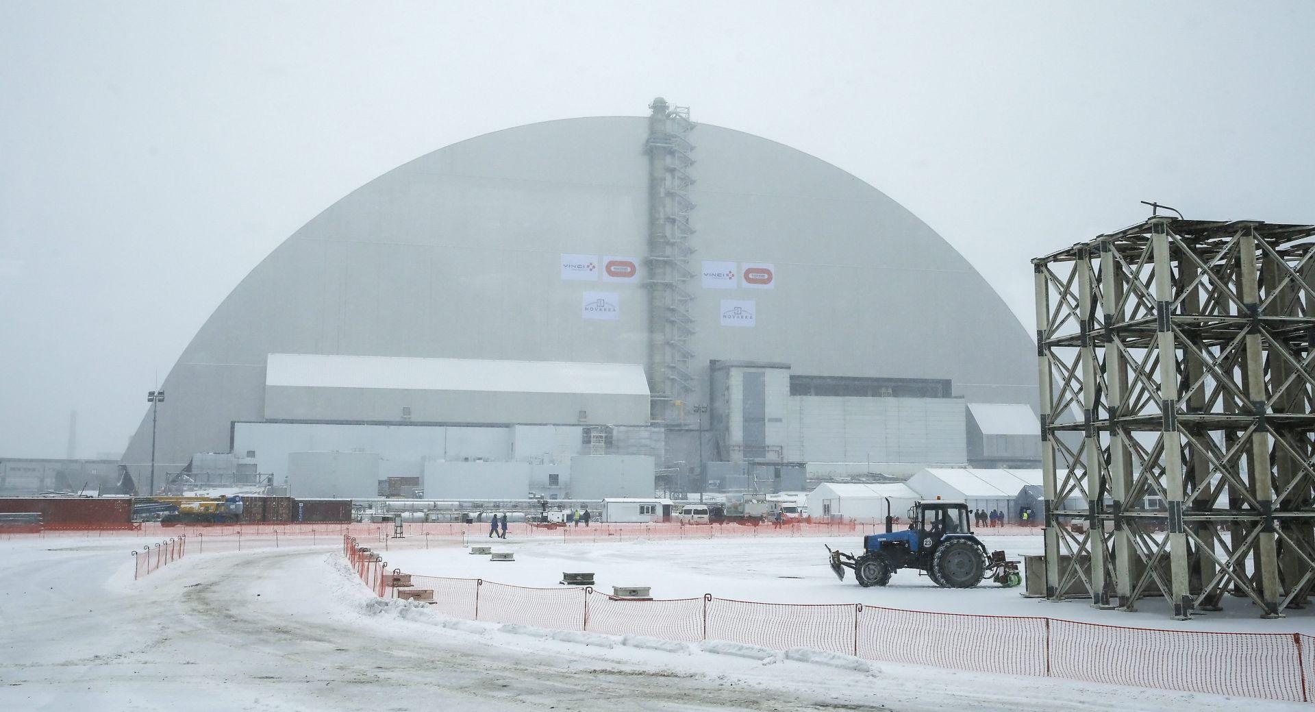 ZAVRŠETAK RADOVA: Iznad Černobila postavljen novi zaštitni 'sarkofag'