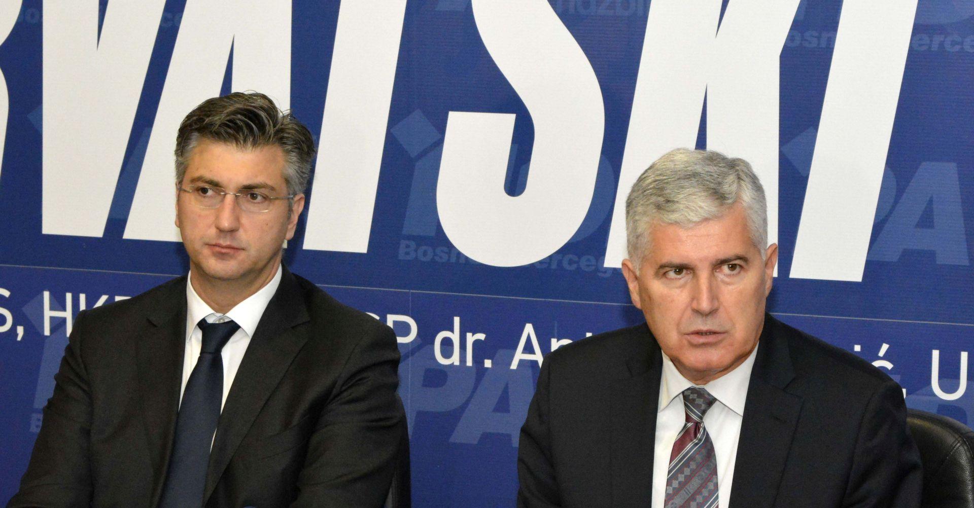 """Čović kaže da je u BiH """"sve stalo"""", ni Plenković ne može pomoći"""