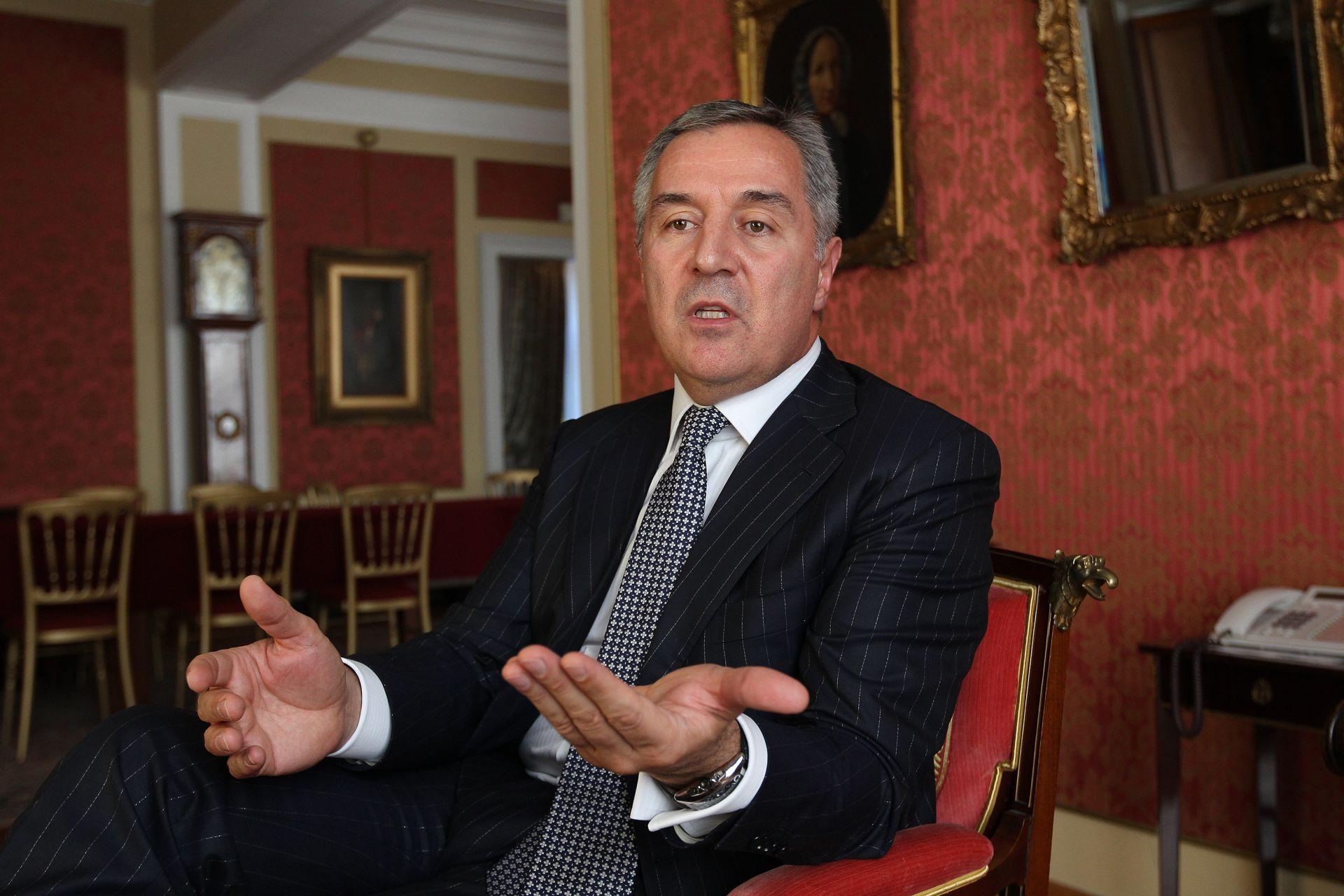 Đukanović spreman za normalizaciju odnosa s Rusijom