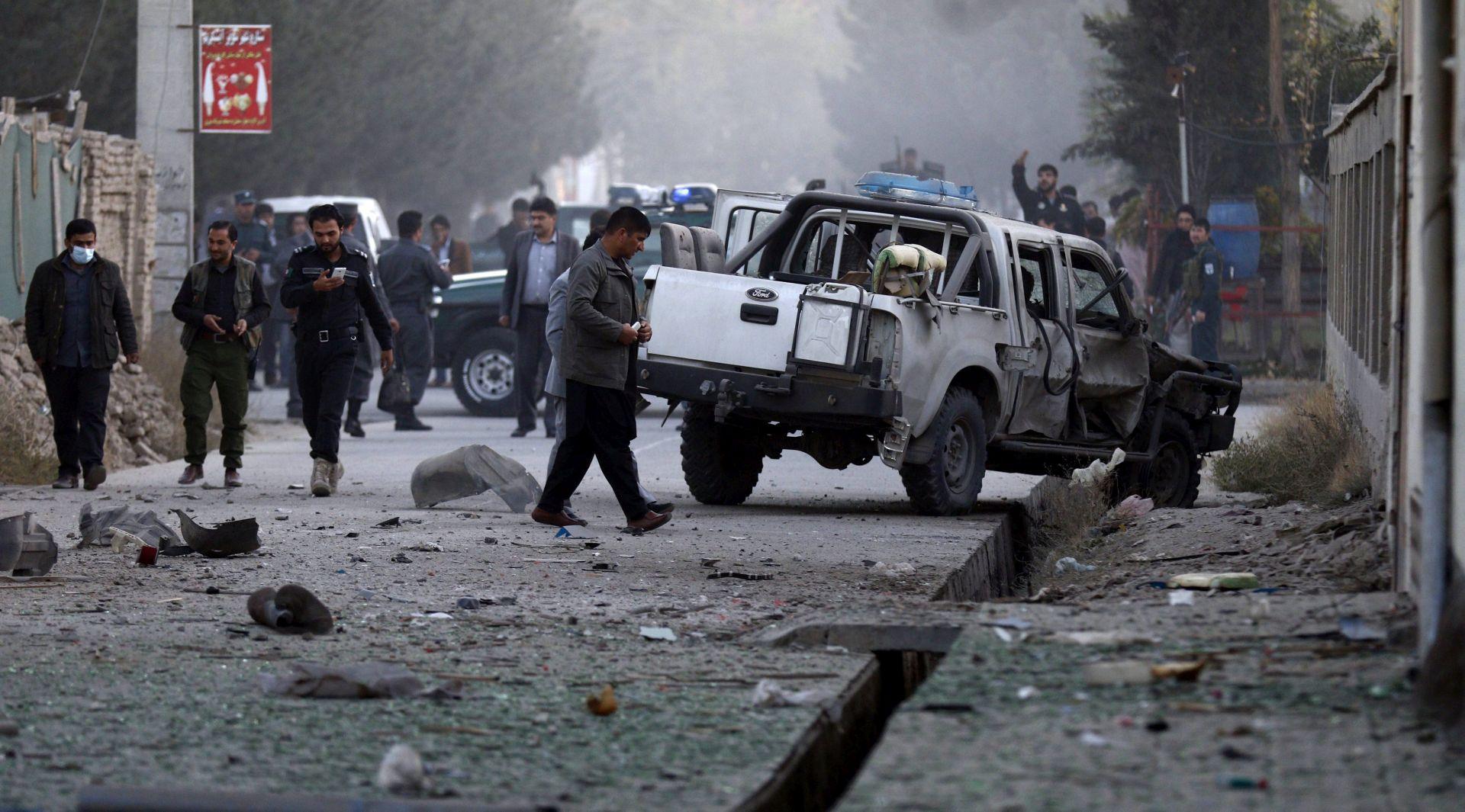 BOMBAŠ SAMOUBOJICA Šest mrtvih u napadu na njemački konzulat u Afganistanu