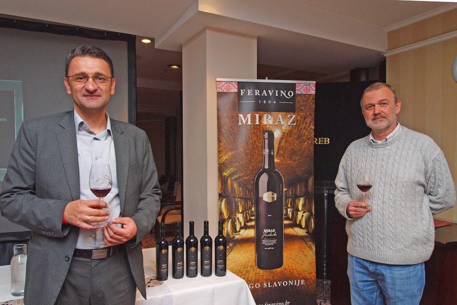 Enolog Marijan Knežević i vinski kritičar Ivo Kozarčanin