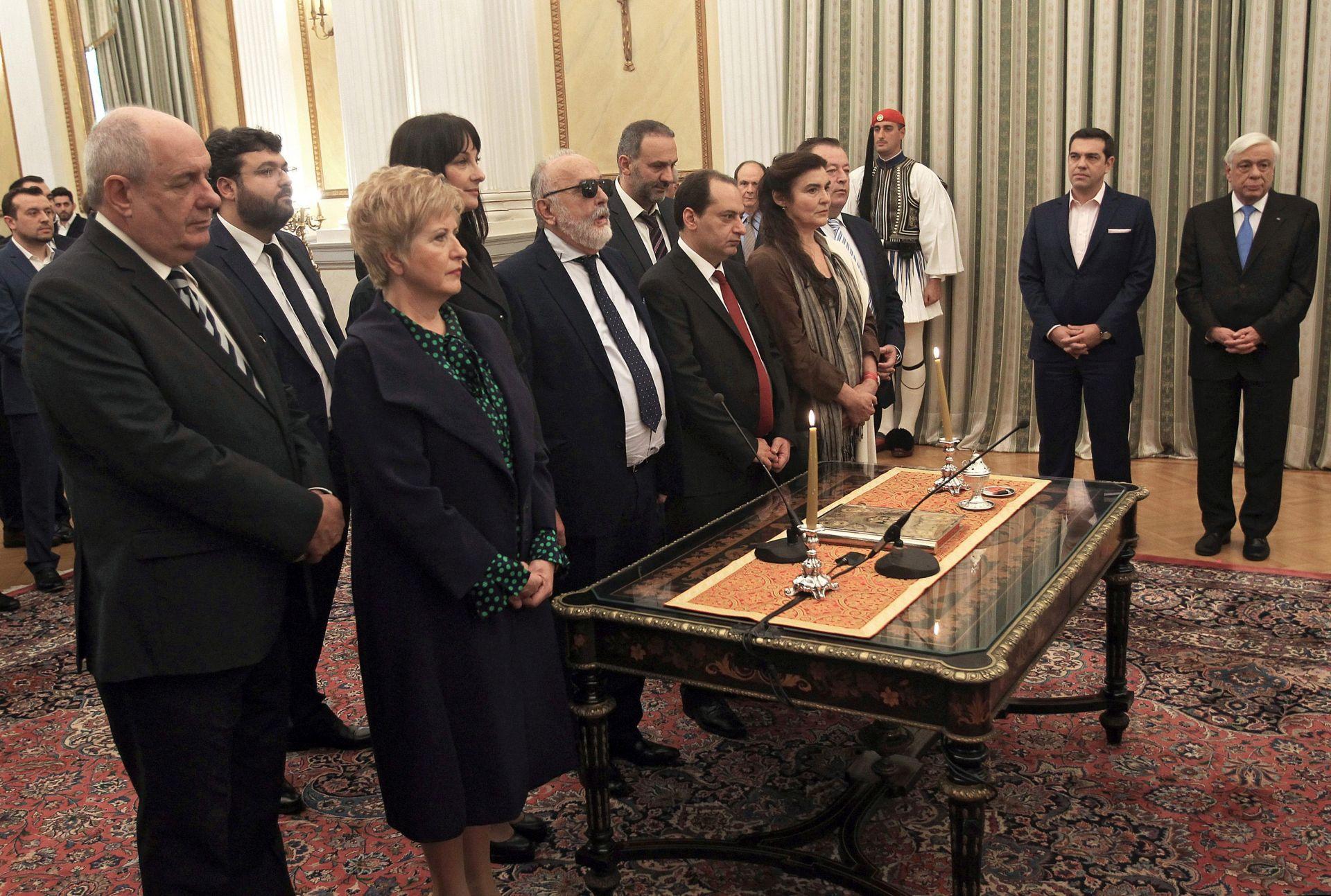 """NAKON PREUSTROJA: Nova grčka vlada obećava """"novi početak"""""""