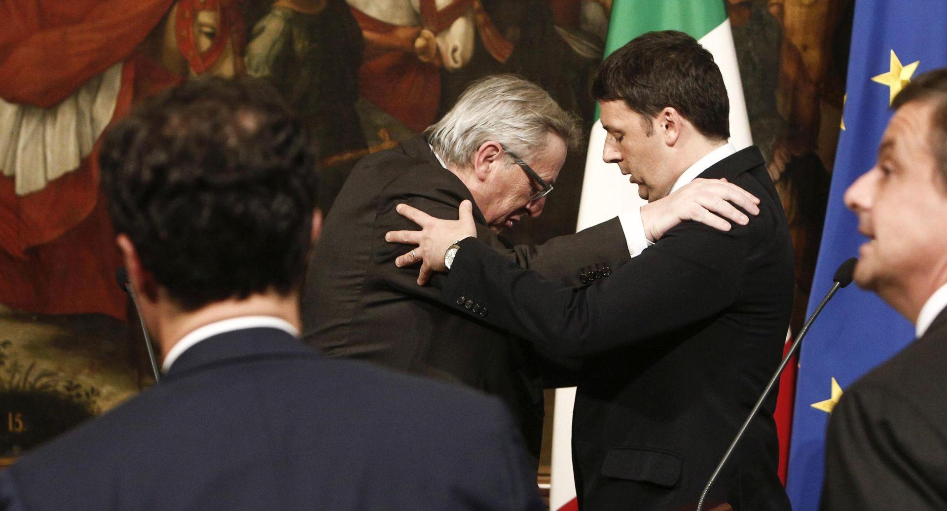 Juncker hvali Renzijeve prijedloge reformi uoči talijanskog referenduma