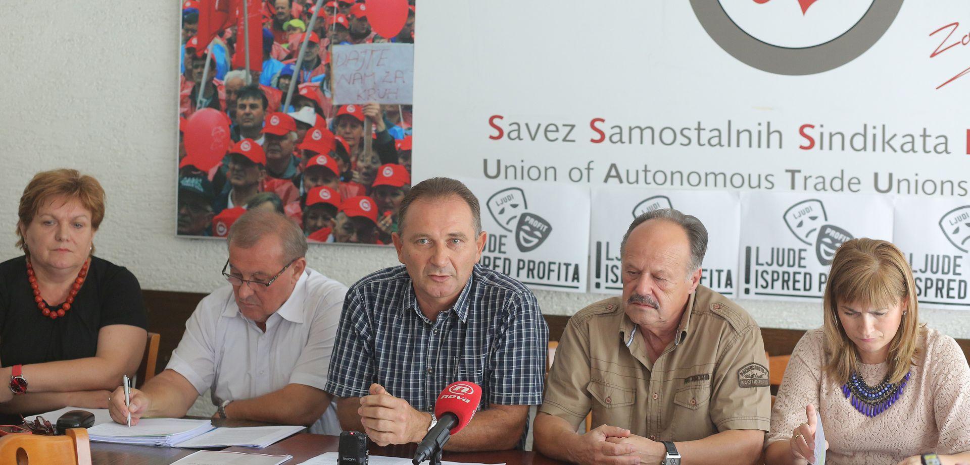 SSSH kritizira predloženu poreznu reformu