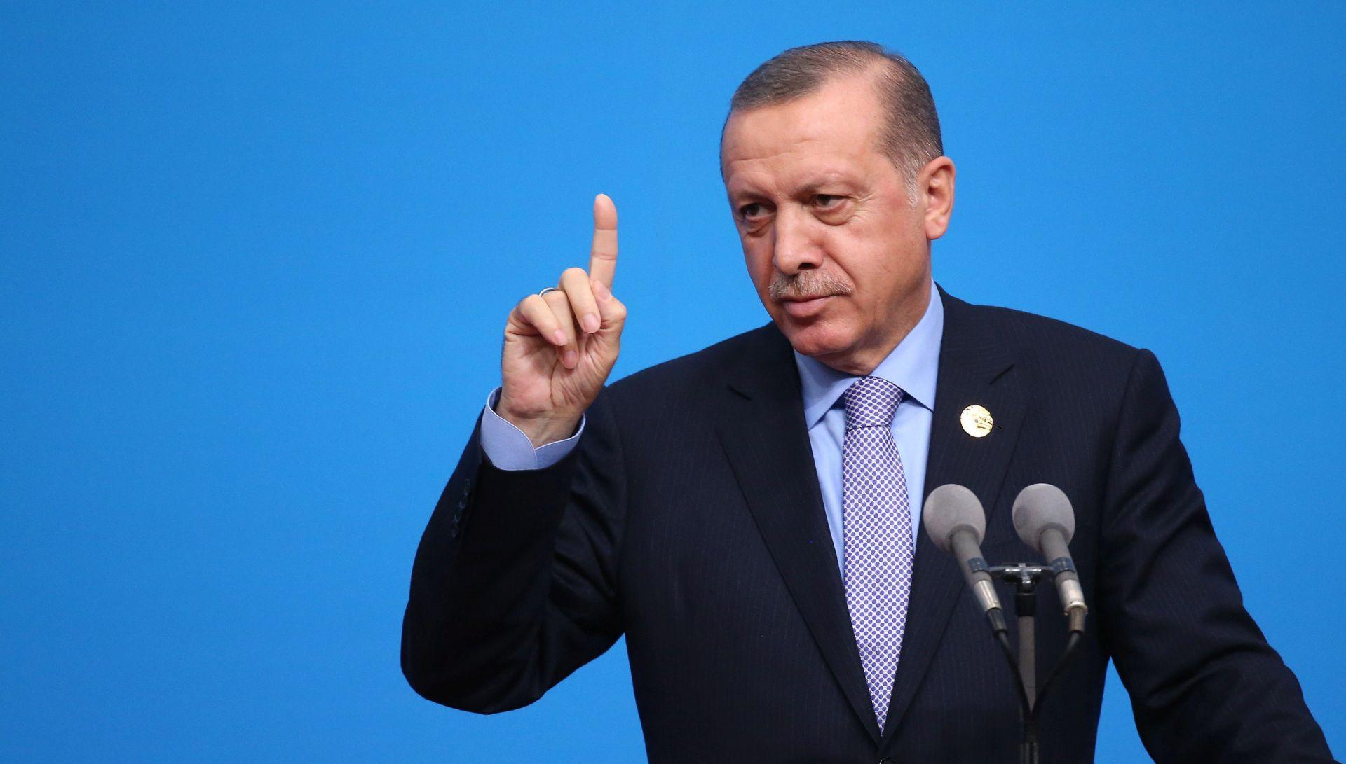 Erdogan: Europa pomaže terorizmu svojom potporom kurdskim militantima