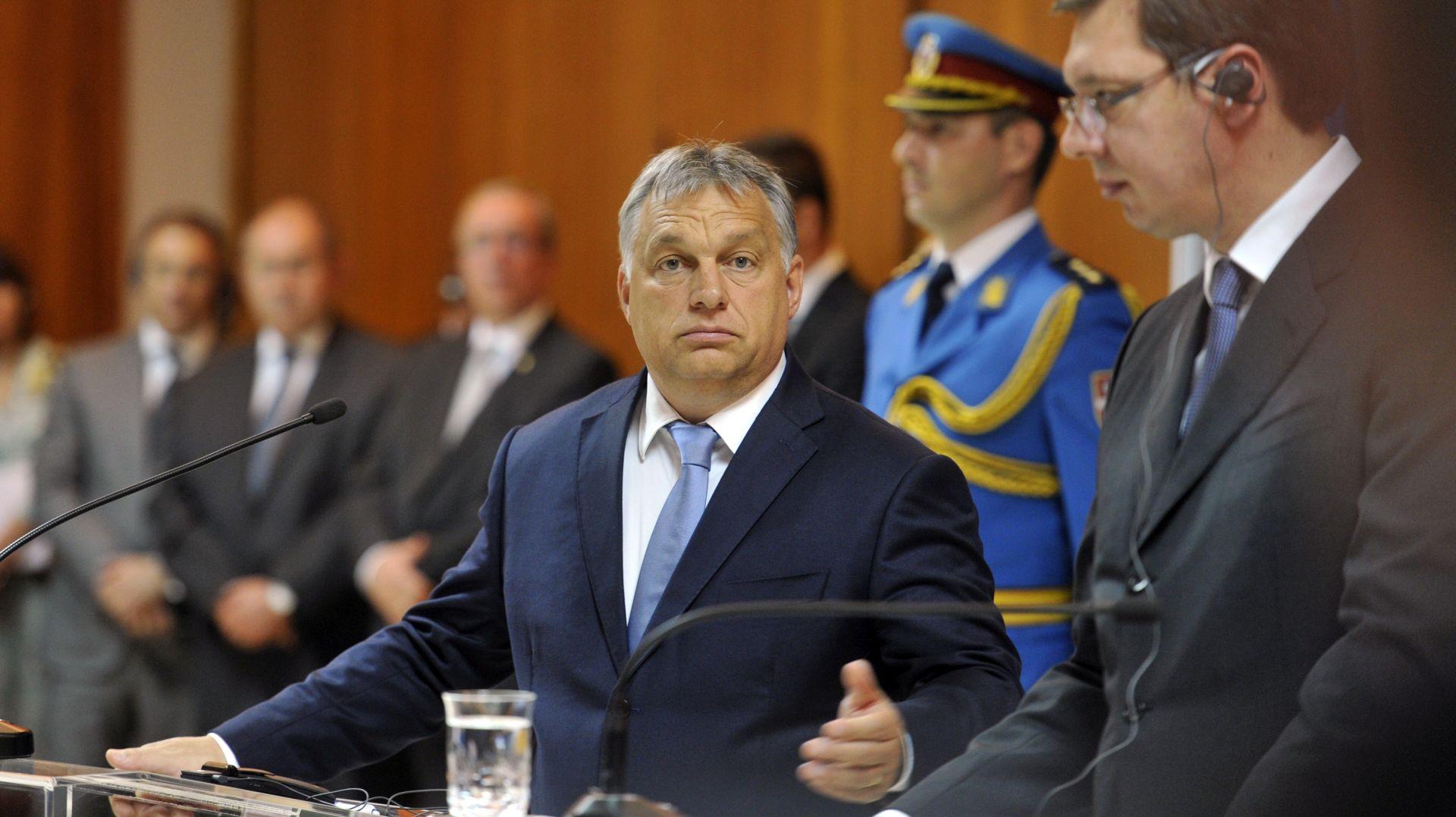 Orban u nedjelju i ponedjeljak u posjetu Srbiji, zajednička sjednica dviju vlada