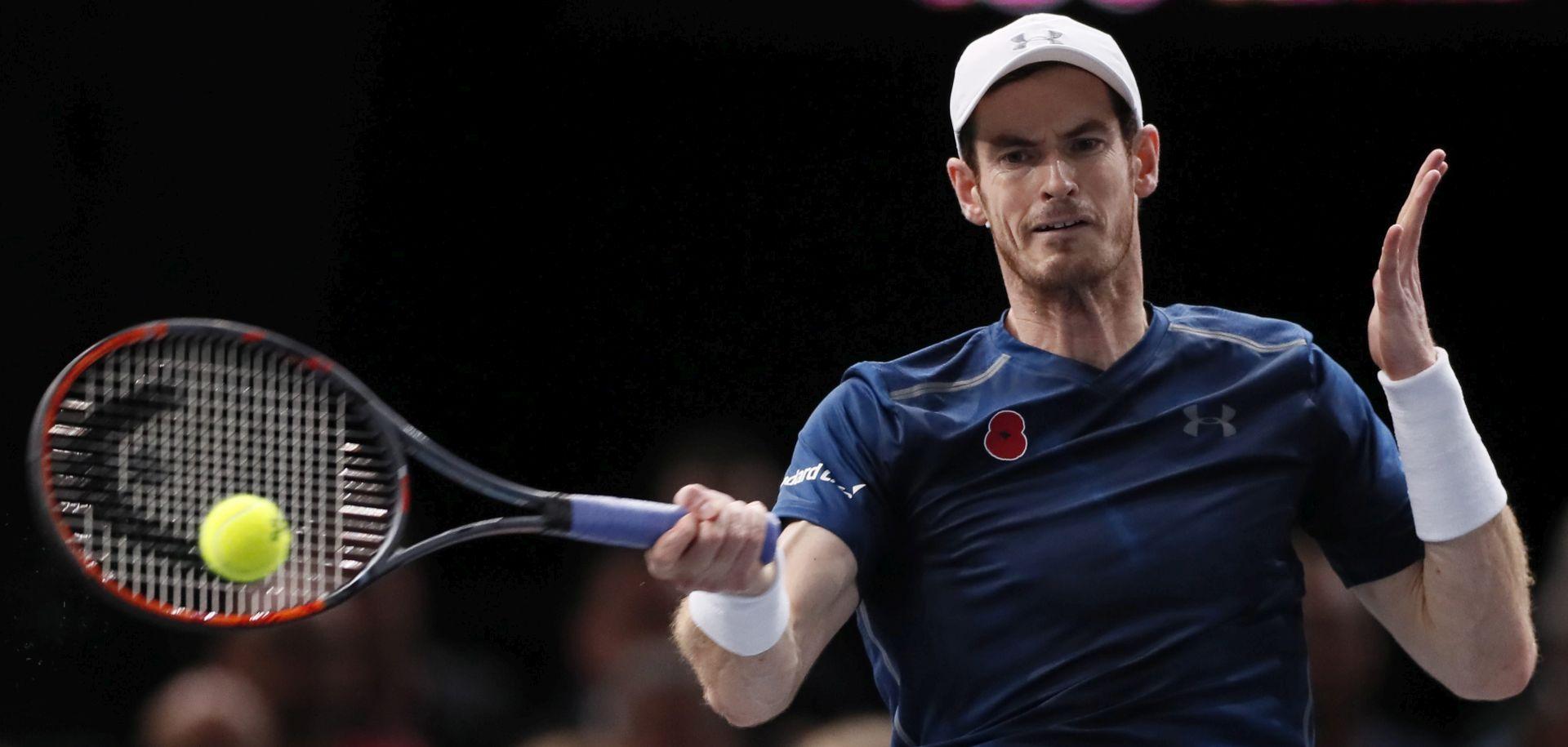 ATP PARIZ Pobjeda Murrayja, još ga jedna pobjeda dijeli od 'broja 1'
