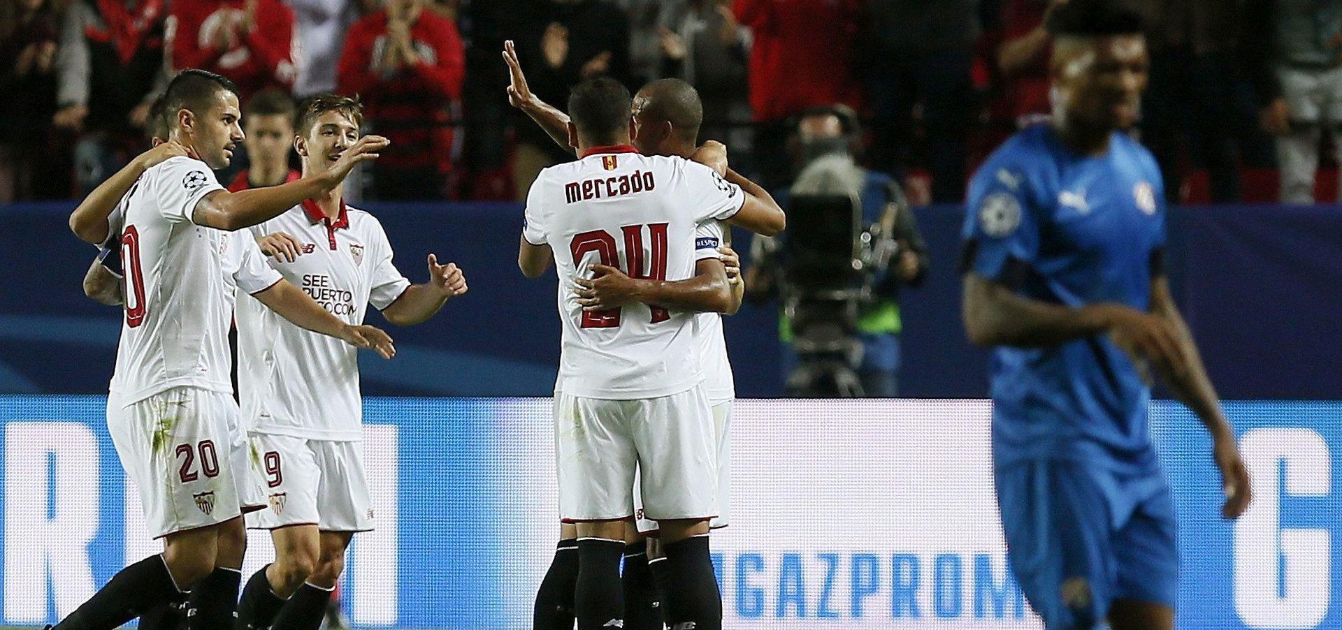 GOL RAZLIKA 0:12 Dinamo potopljen u Sevilli, Stojanović pocrvenio, Sevilla pucala čak 31 put na vrata Livakovića