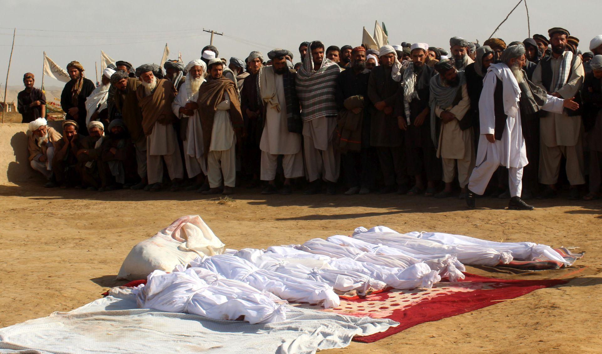 UN istražuje smrti civila u američkim zračnim udarima u Afganistanu
