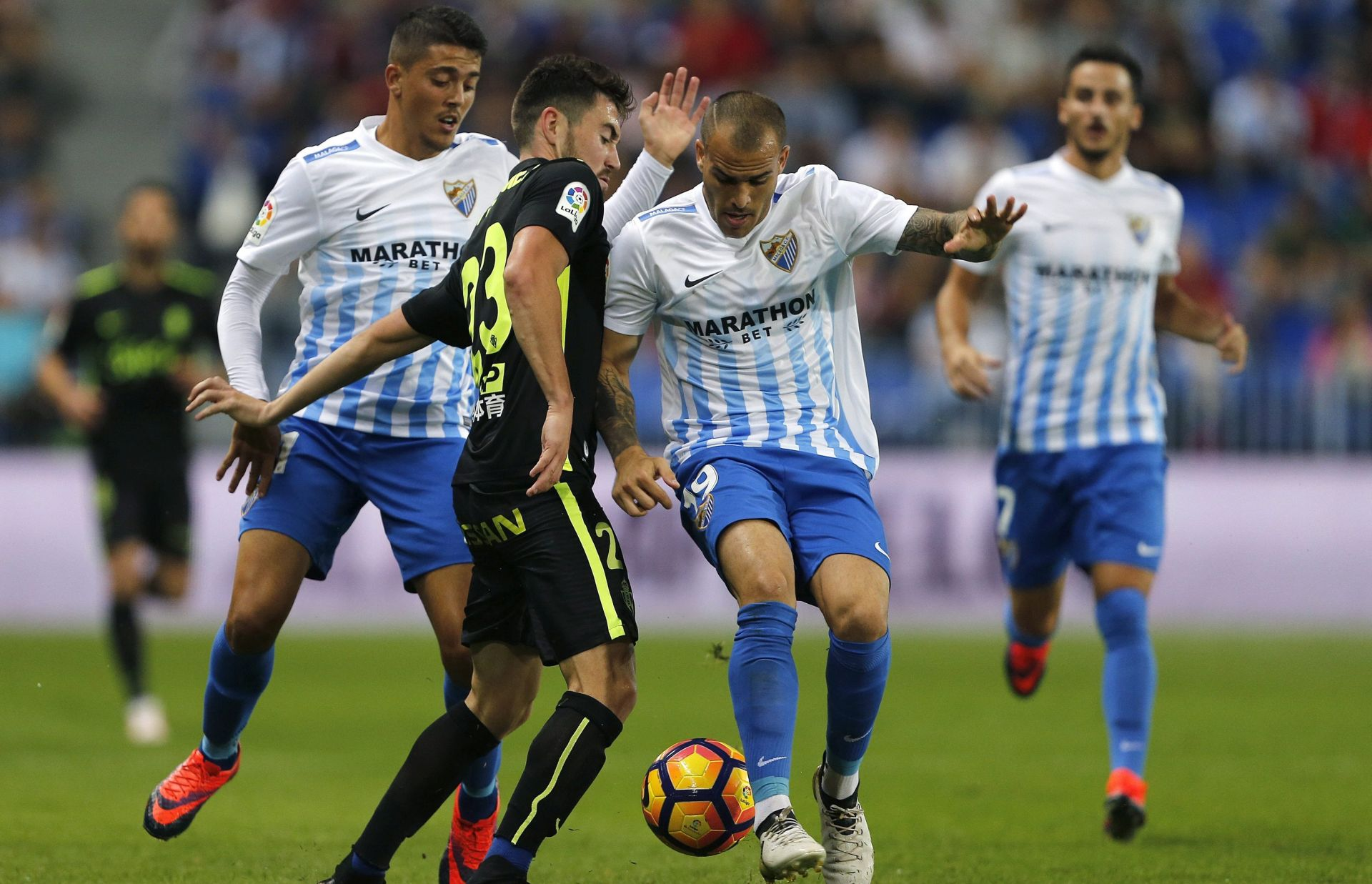 PRIMERA Malaga slavila protiv Deportiva