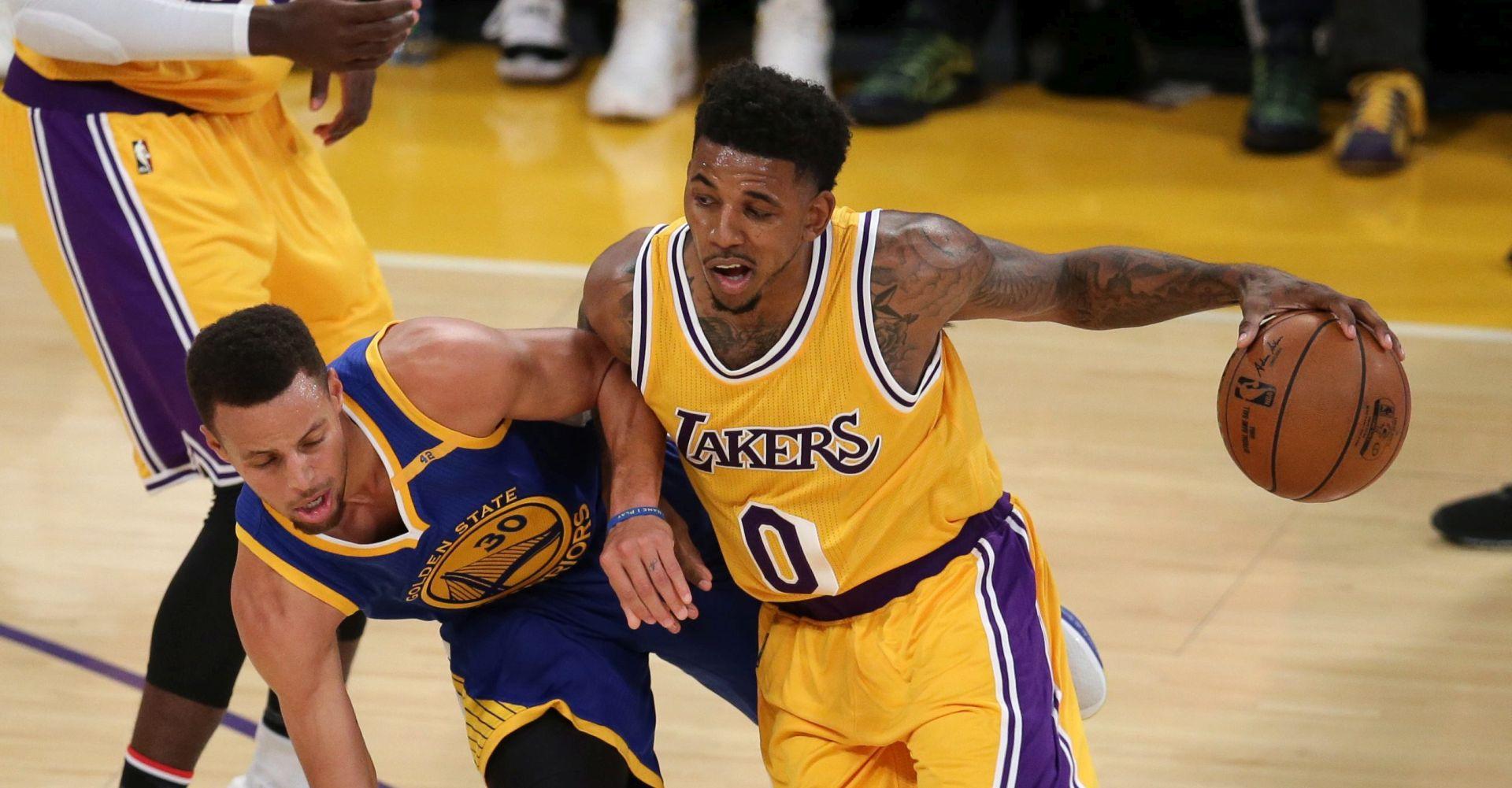 NBA Lakersi svladali Warriorse, Curry prekinuo niz, Bogdanović ubacio 14 koševa