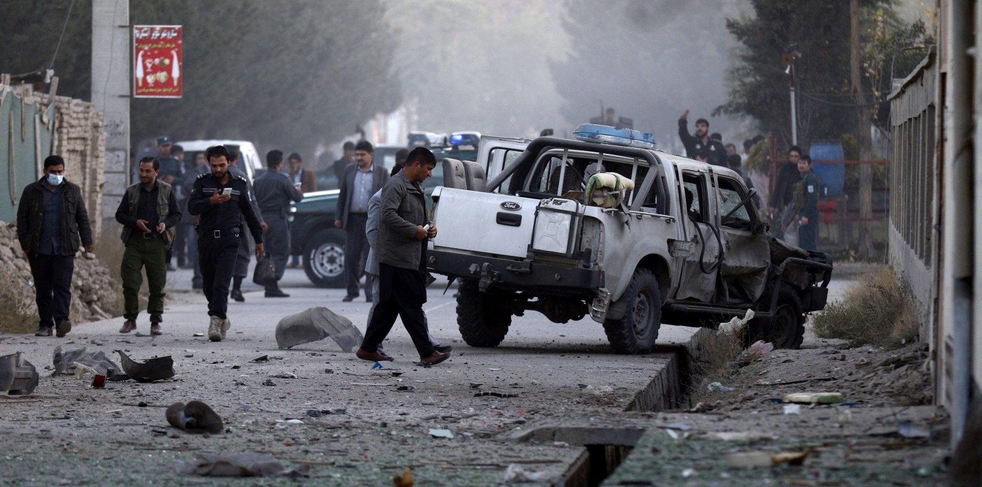 KABUL Bombaš samoubojica ubio najmanje 4 pripadnika nacionalne sigurnosti