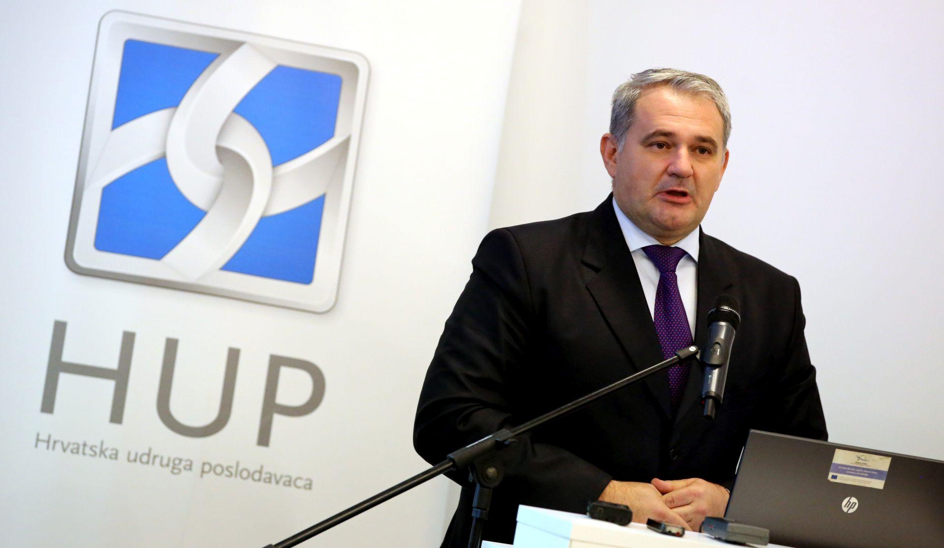 HUP protiv povećanja minimalne plaće na 3800 kuna