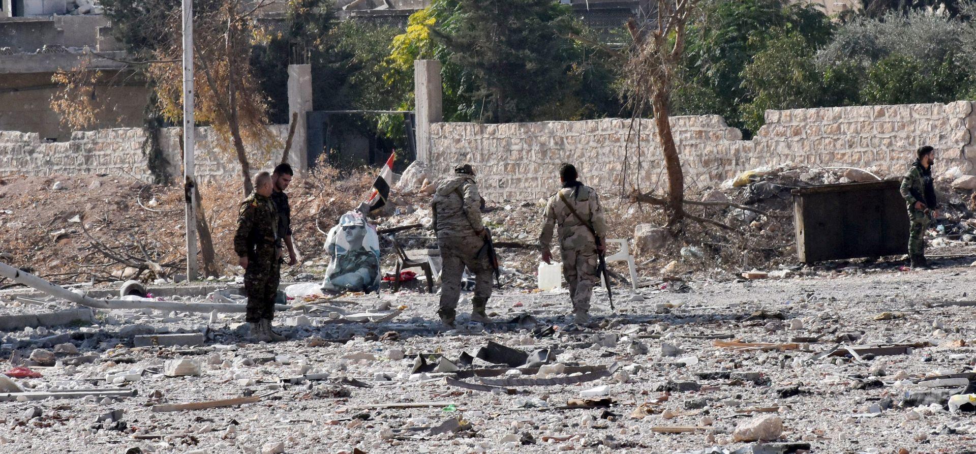 NAPREDAK OFENZIVE: Sirijski režim kontrolira više od polovice pobunjeničkog dijela Alepa