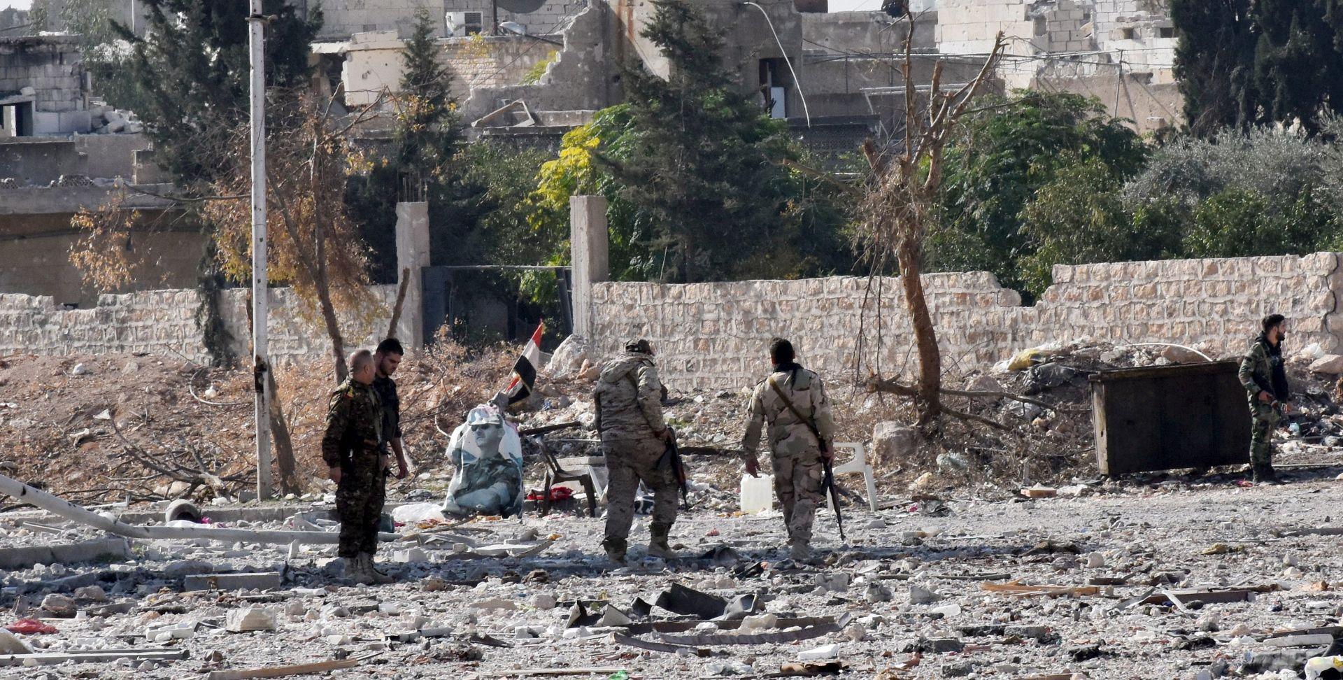 U kemijskom napadu IS-a na sjeveru Sirije ozlijeđena 22 pobunjenika