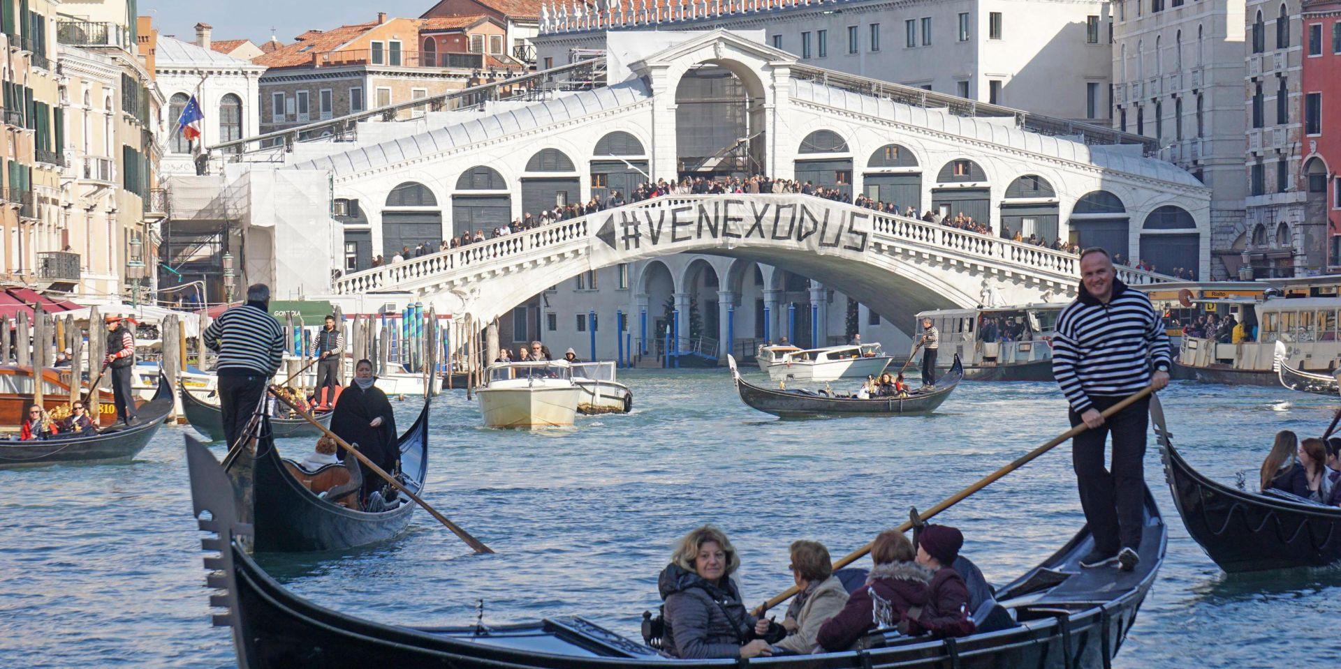 #VENEXODUS Prosvjed stanovnika Venecije