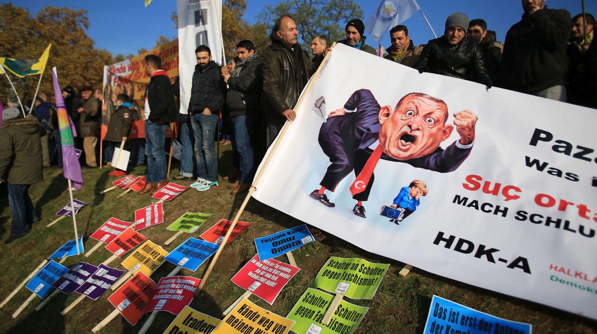 Novi kurdski prosvjed protiv Erdogana u Njemačkoj