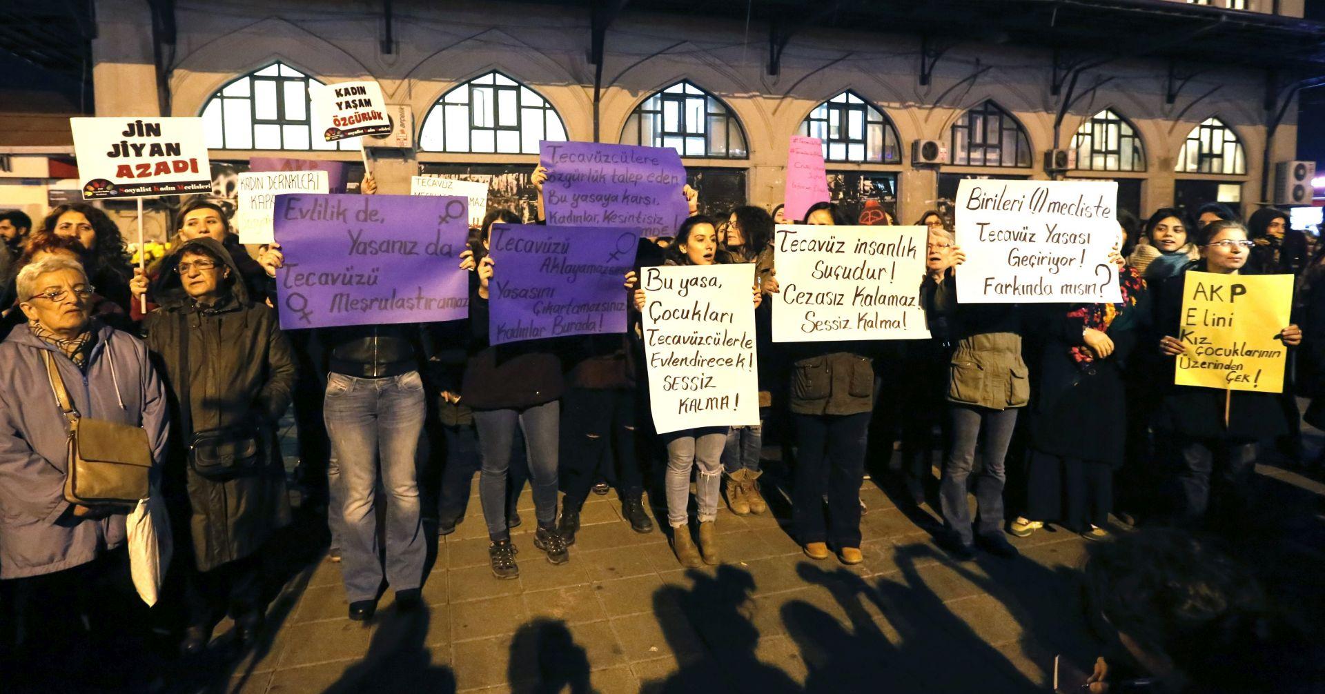Vladajuća turska stranka izazvala uzbunu zbog zakona o spolnom zlostavljanju