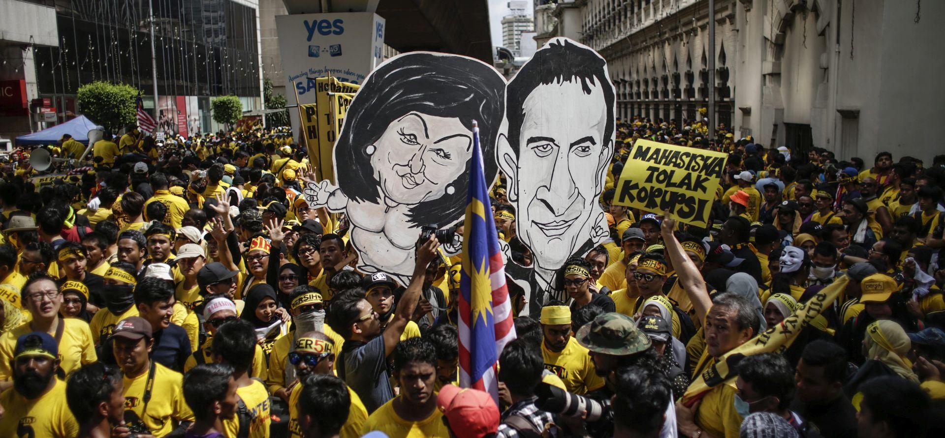 Tisuće Malezijaca prosvjeduju protiv premijera