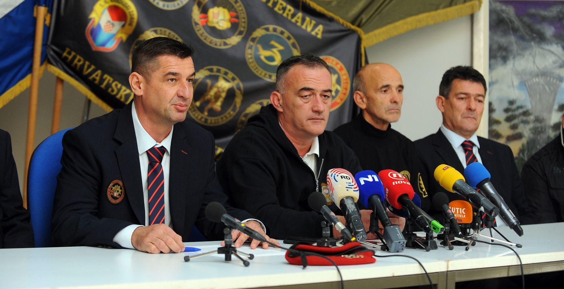 """BRANITELJI O NAPISIMA NACIONALA """"Pozivamo institucije Republike Hrvatske da zaštite Domovinski rat i njegove vrijednosti"""""""