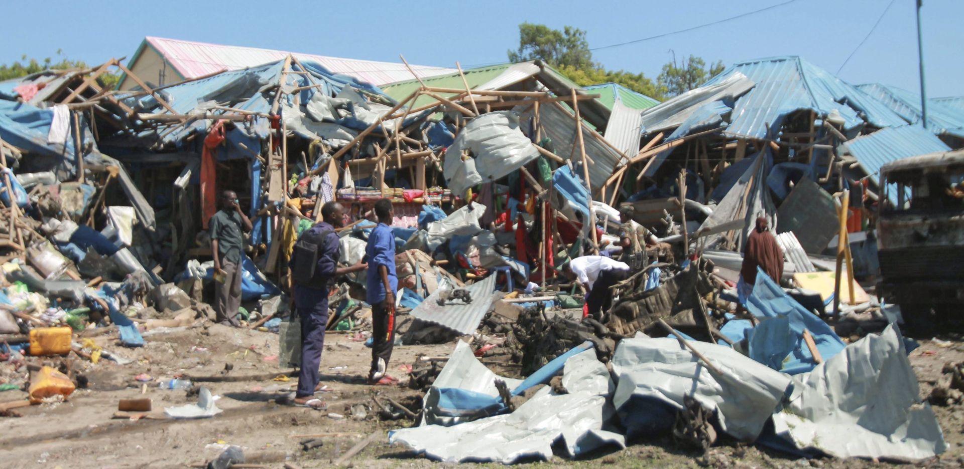 SOMALIJA U eksploziji autobombe kraj tržnice najmanje 10 mrtvih