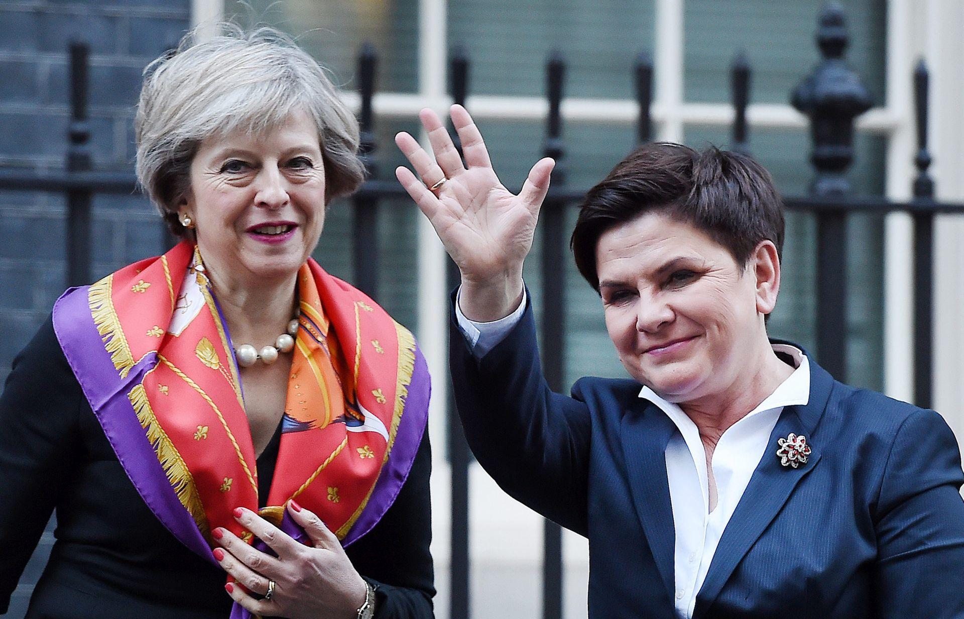 MAY 'Prava Poljaka u Britaniji moraju biti zajamčena, ali i Britanaca u EU-u'