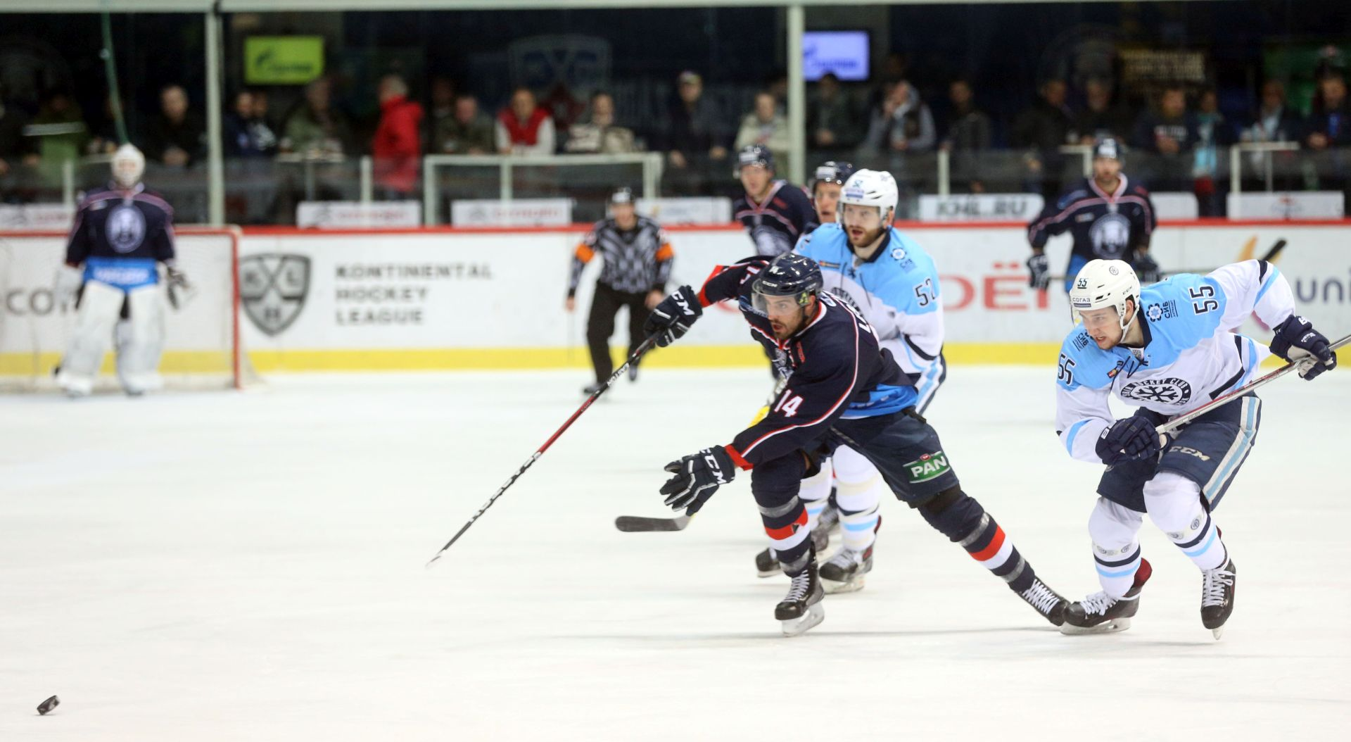 KHL  Medveščak – Sibir 0-2