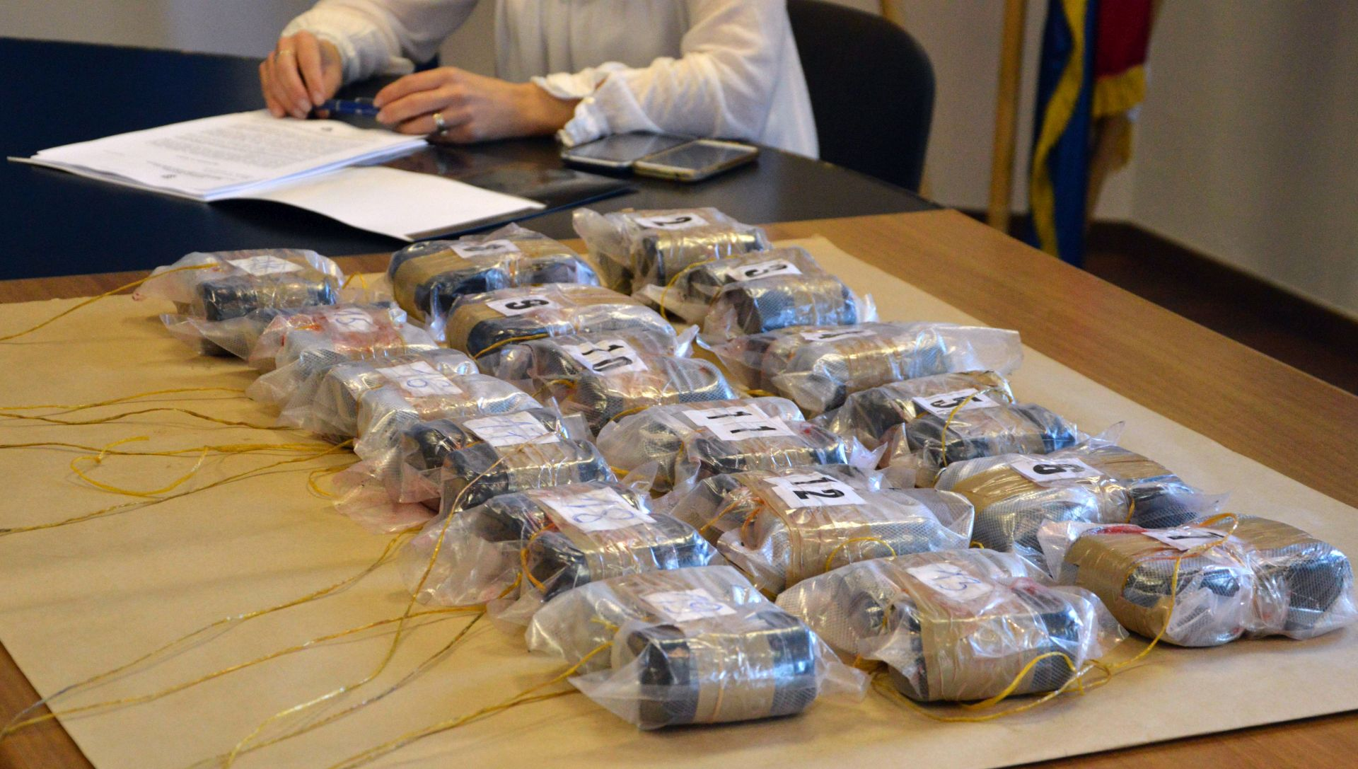 MUP: Na Bajakovu zapljenjena 32 kilograma heroina